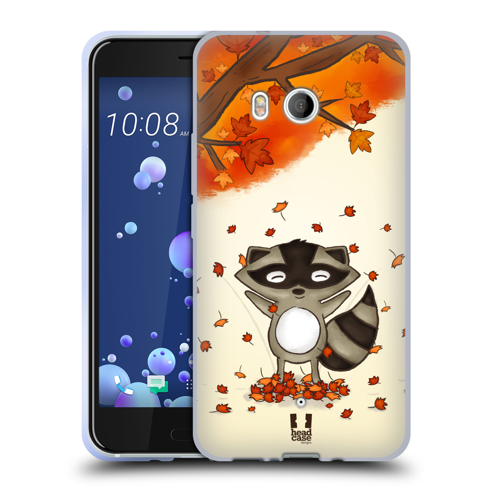 Silikonové pouzdro na mobil HTC U11 - Head Case - PODZIMNÍ MÝVAL