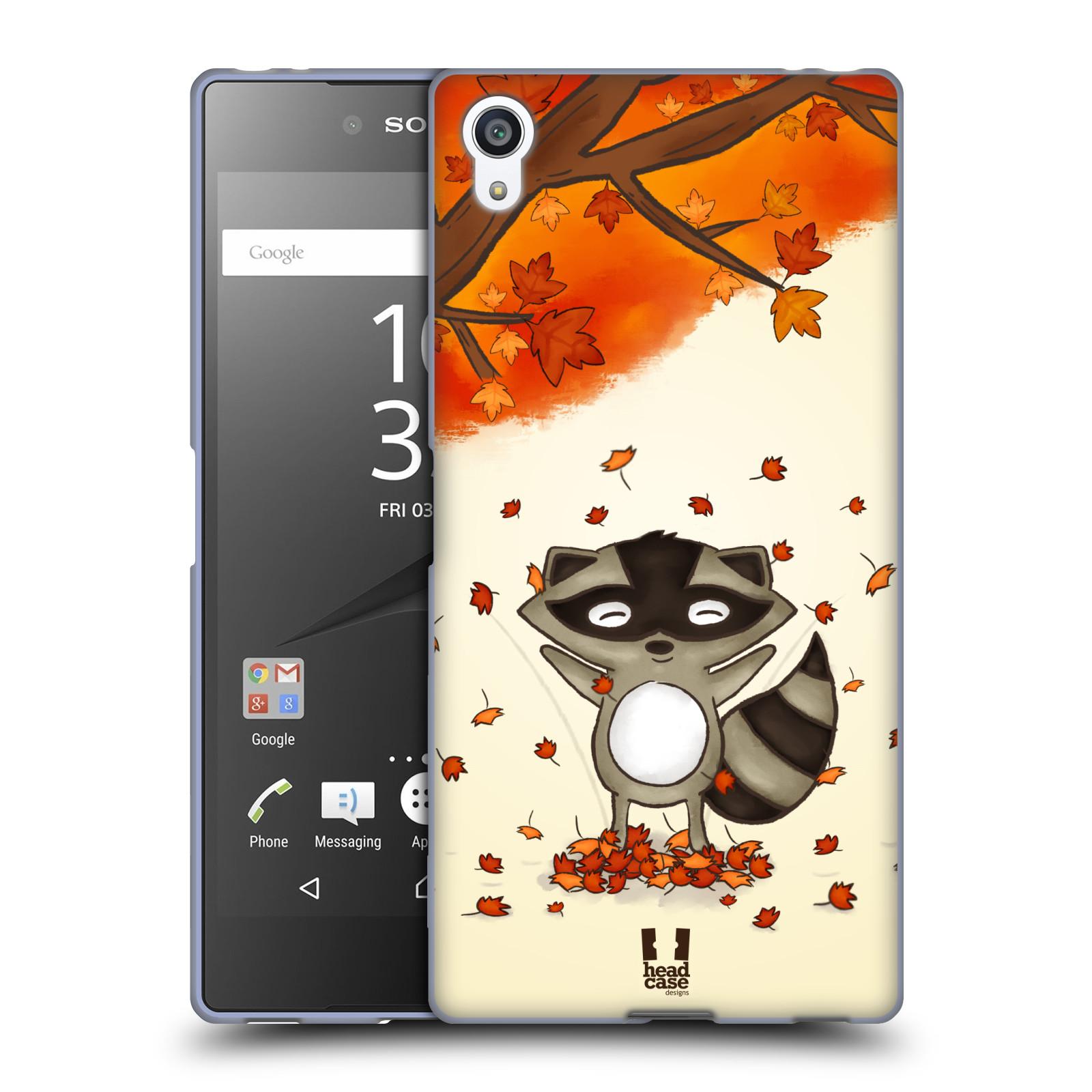 Silikonové pouzdro na mobil Sony Xperia Z5 Premium HEAD CASE PODZIMNÍ MÝVAL
