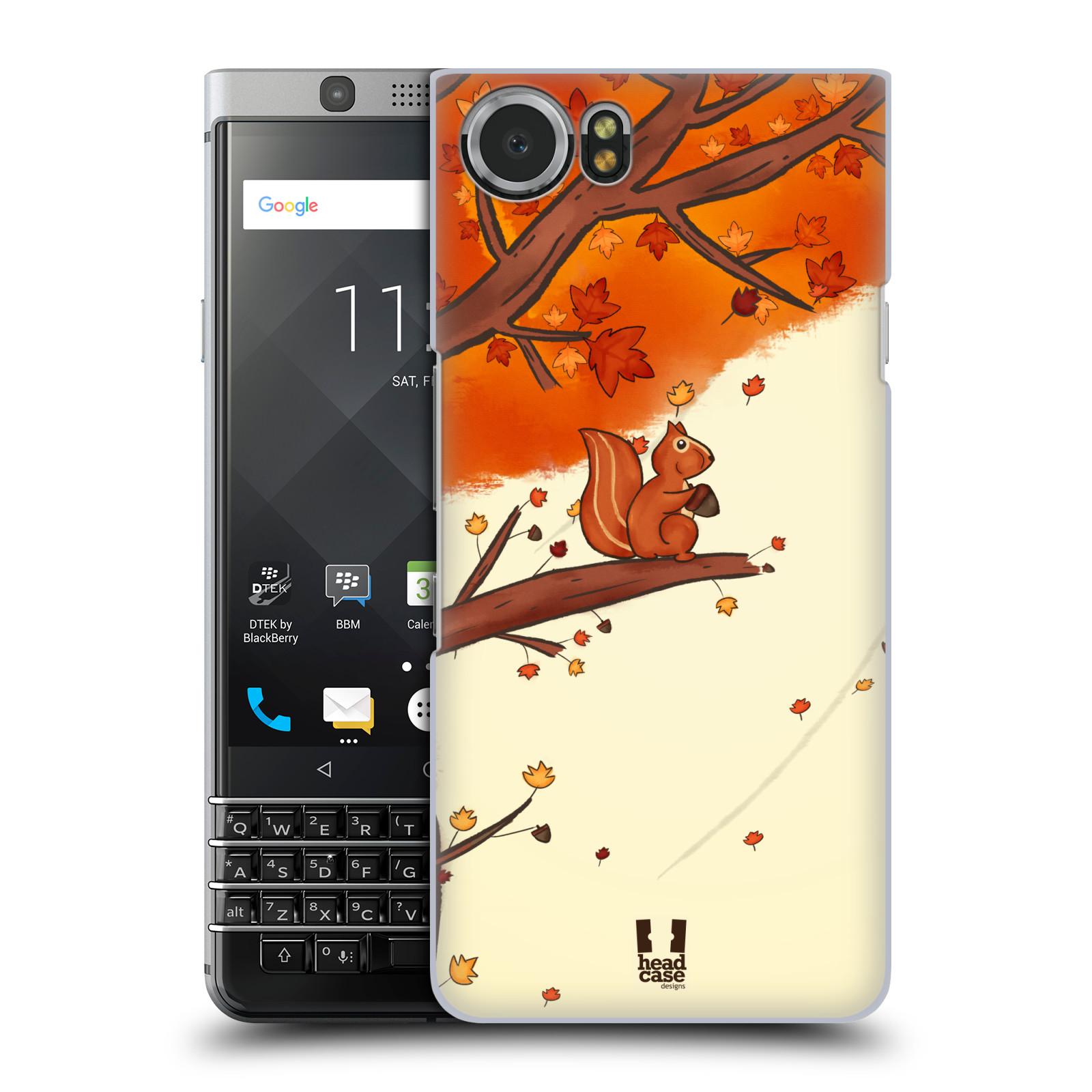 Plastové pouzdro na mobil BlackBerry KEYone - Head Case - PODZIMNÍ VEVERKA