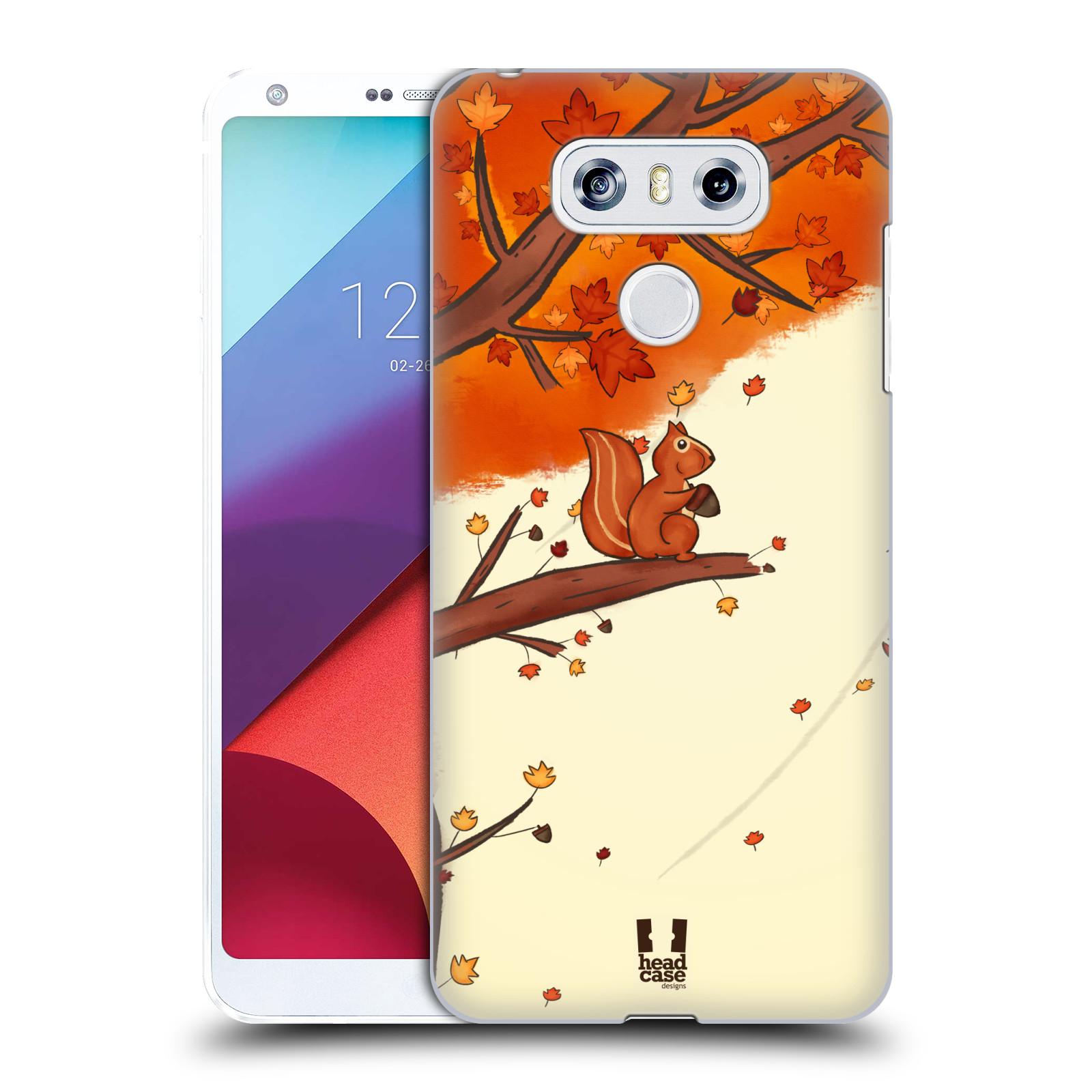 Plastové pouzdro na mobil LG G6 - Head Case PODZIMNÍ VEVERKA