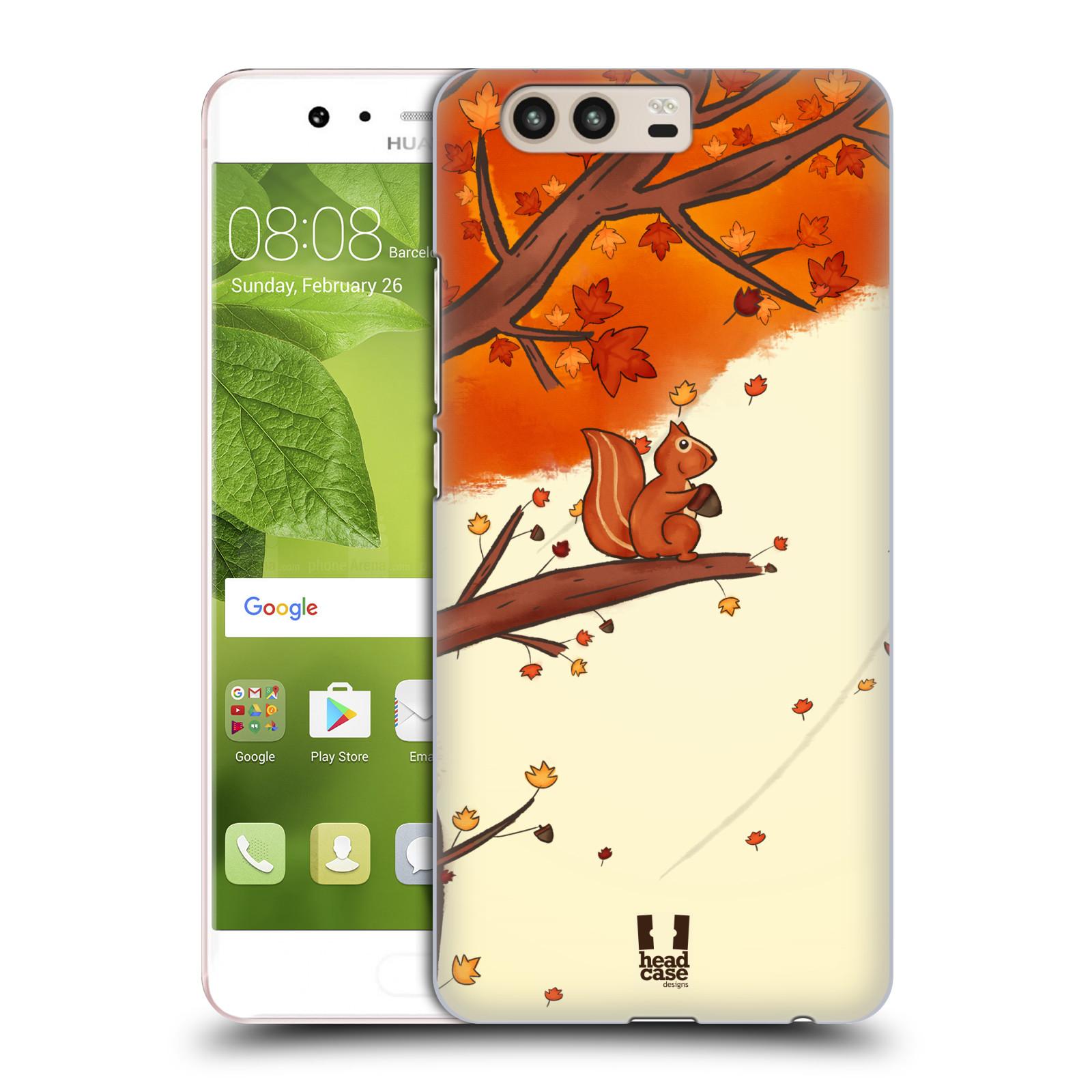 Plastové pouzdro na mobil Huawei P10 - Head Case PODZIMNÍ VEVERKA