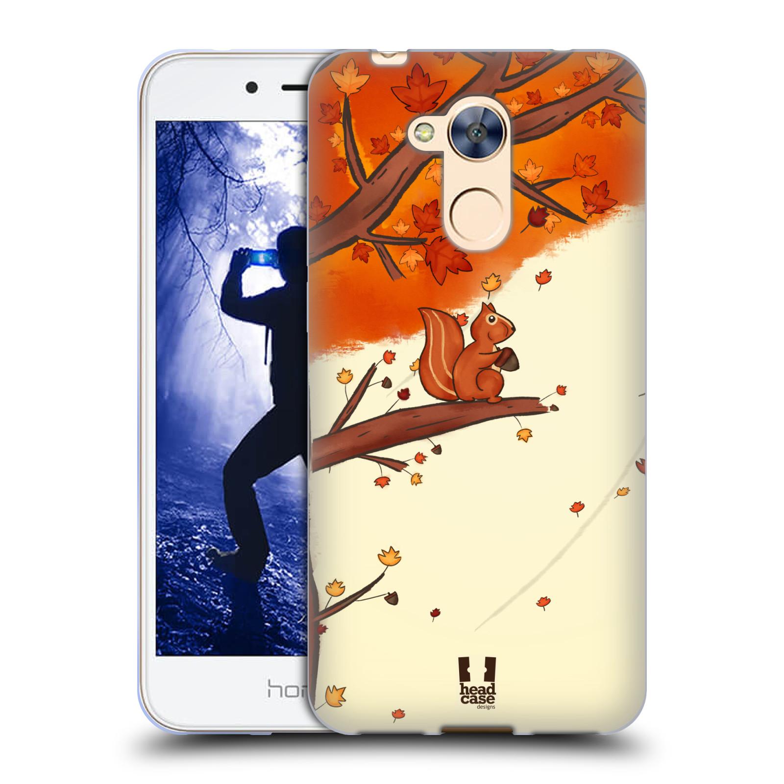 Silikonové pouzdro na mobil Honor 6A - Head Case - PODZIMNÍ VEVERKA