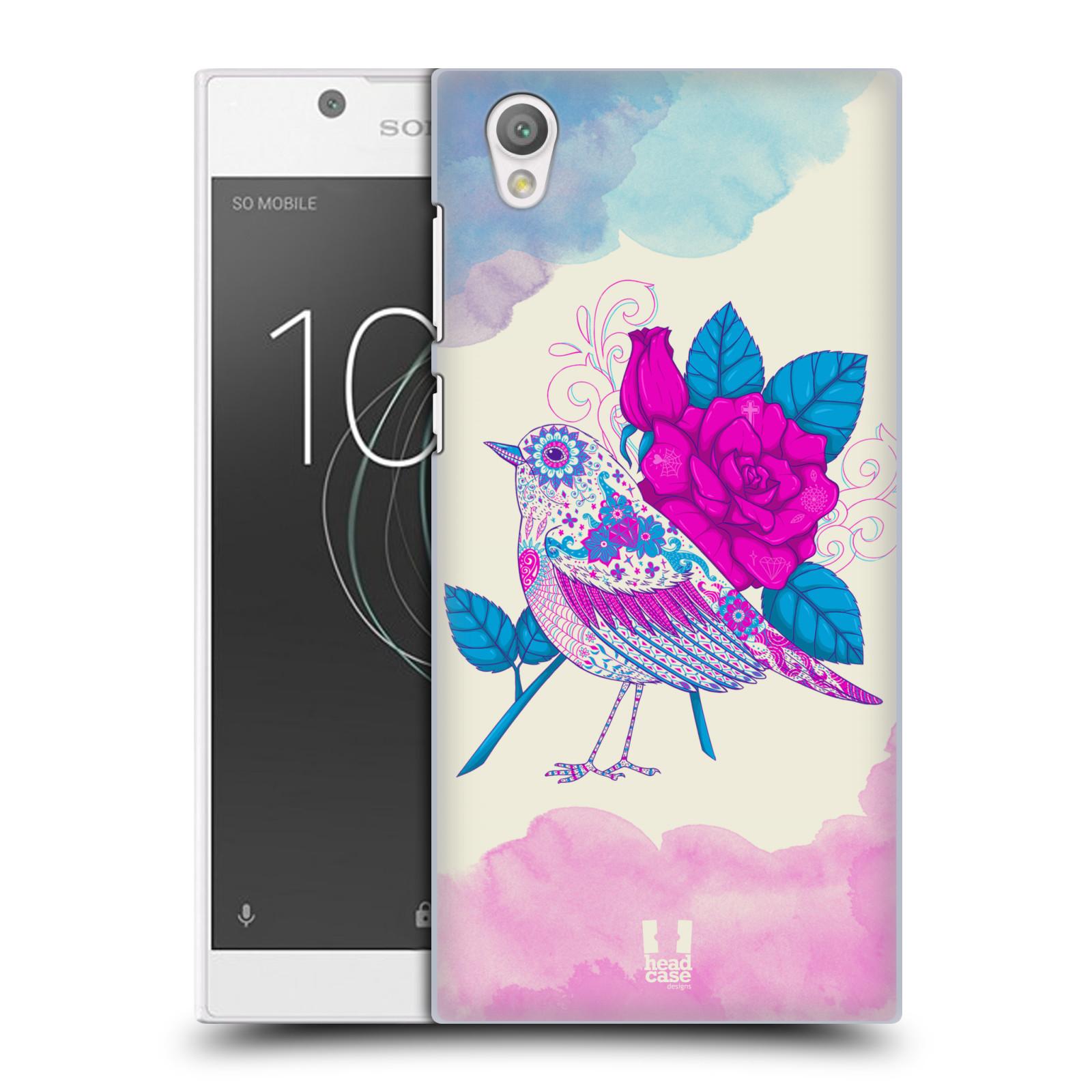 Plastové pouzdro na mobil Sony Xperia L1 - Head Case - PTÁČEK FUCHSIA