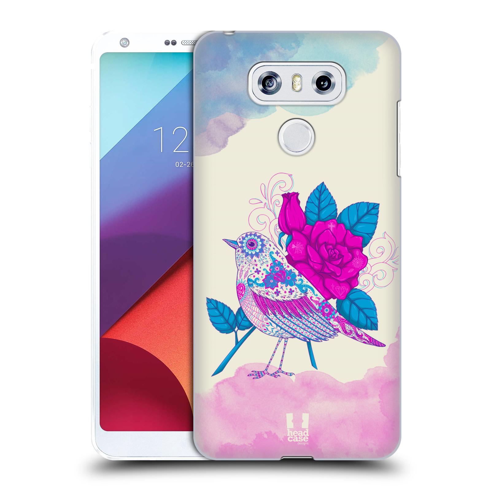 Plastové pouzdro na mobil LG G6 - Head Case PTÁČEK FUCHSIA