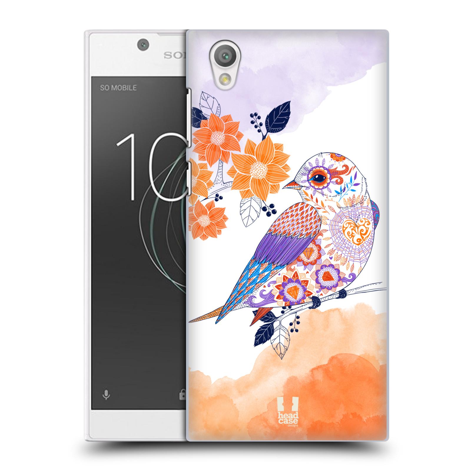 Plastové pouzdro na mobil Sony Xperia L1 - Head Case - PTÁČEK TANGERINE