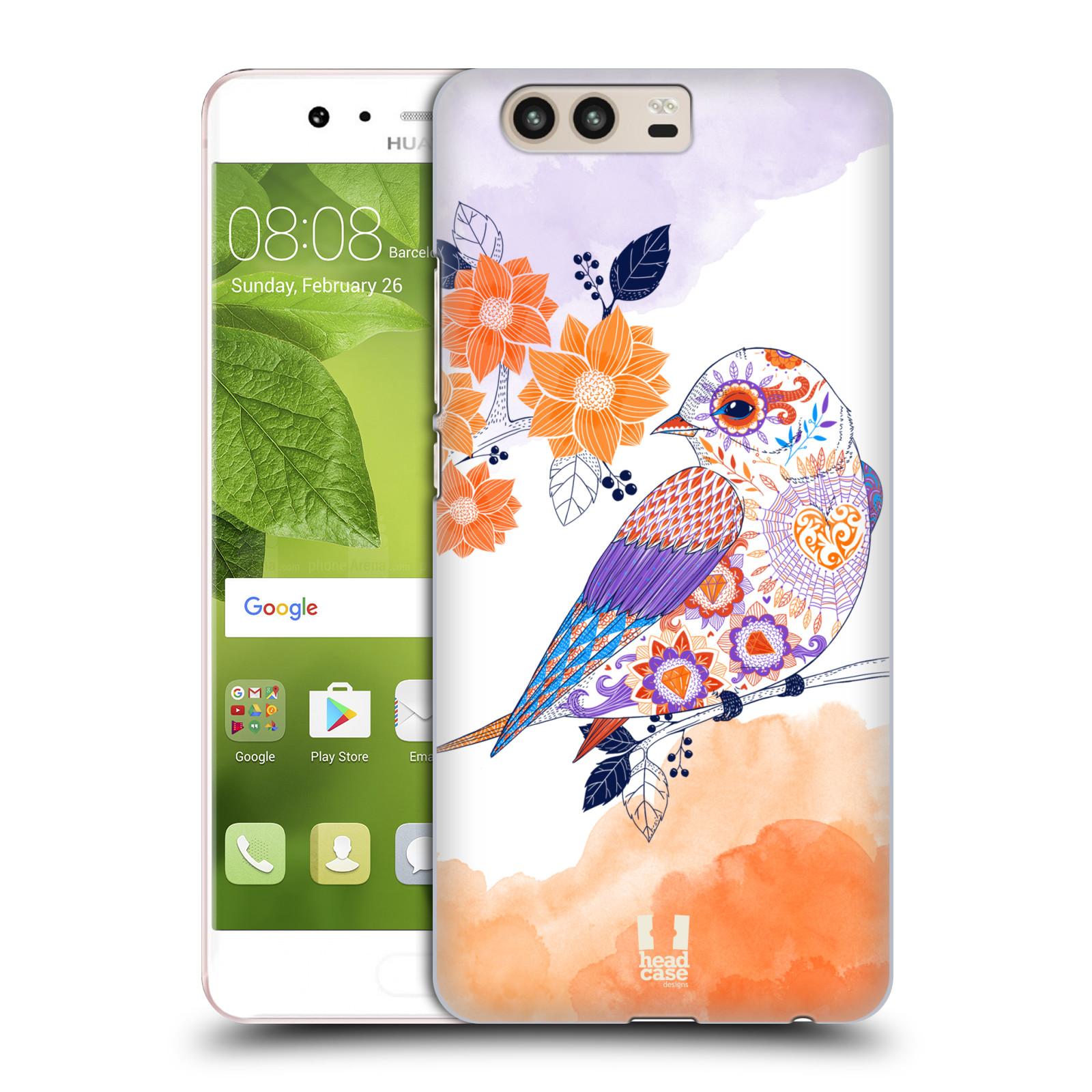 Plastové pouzdro na mobil Huawei P10 - Head Case PTÁČEK TANGERINE