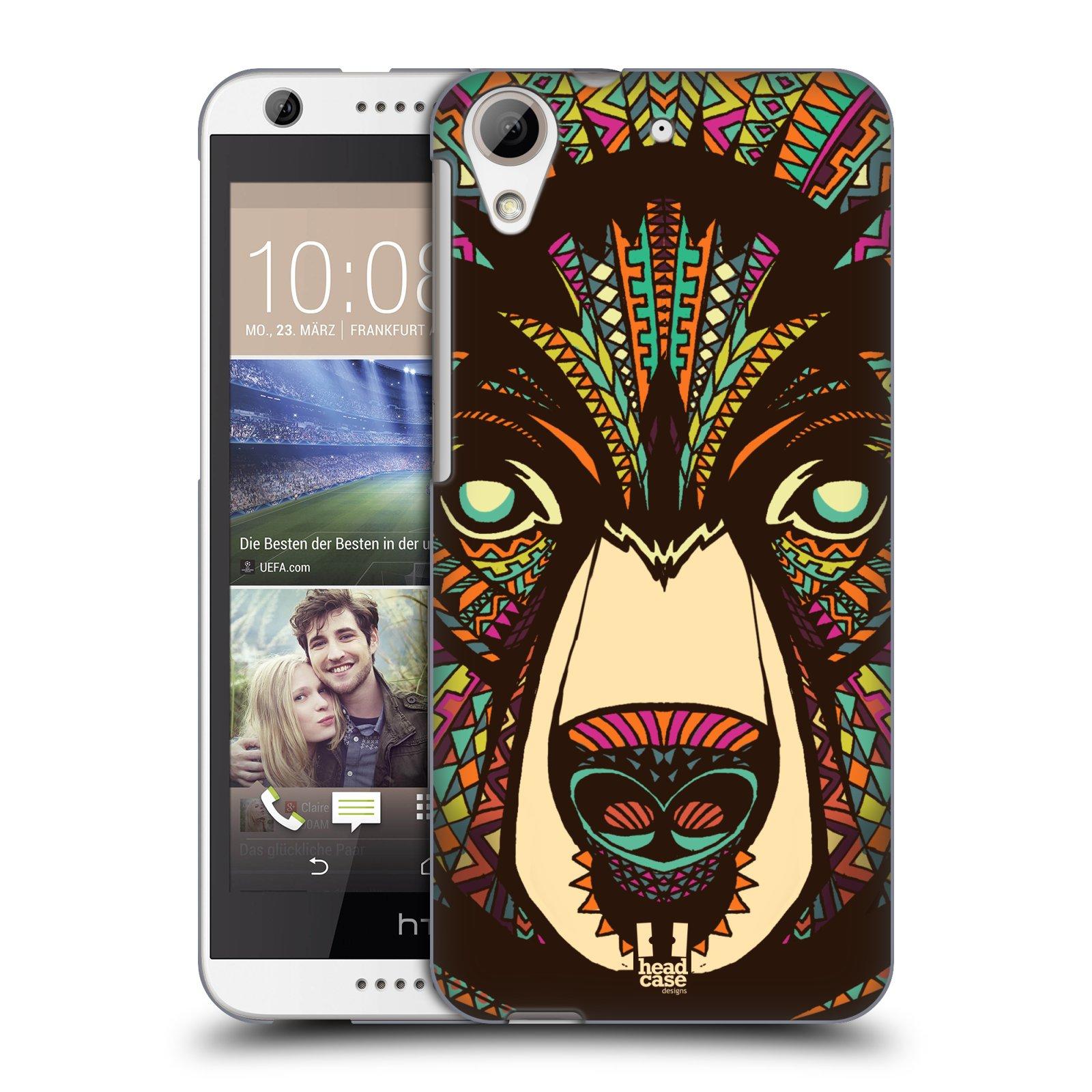 Plastové pouzdro na mobil HTC Desire 626 / 626G HEAD CASE AZTEC MEDVĚD (Kryt či obal na mobilní telefon HTC Desire 626G Dual SIM a HTC Desire 626)