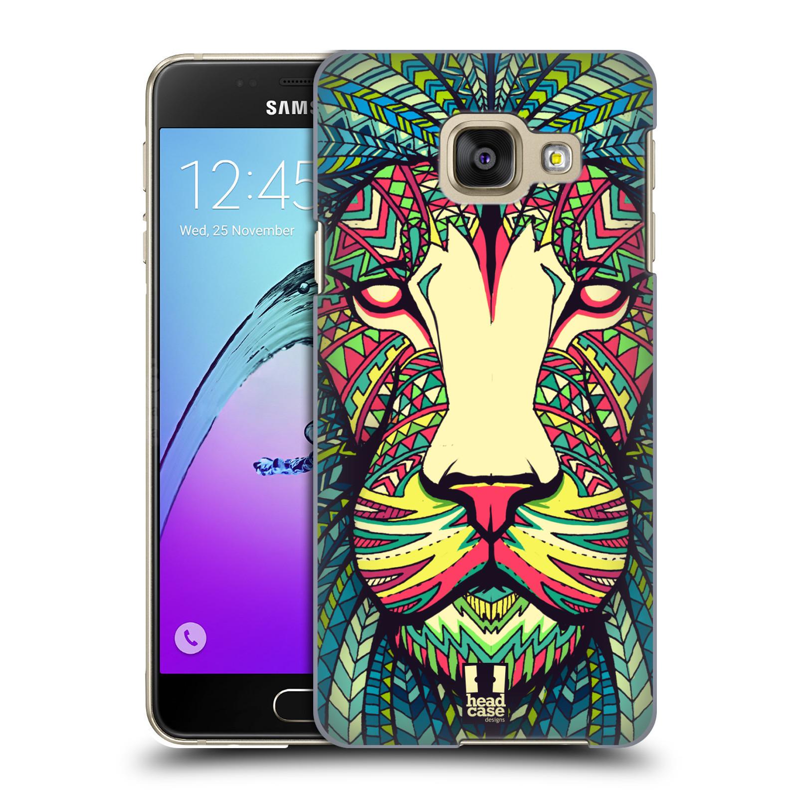 Plastové pouzdro na mobil Samsung Galaxy A3 (2016) HEAD CASE AZTEC LEV