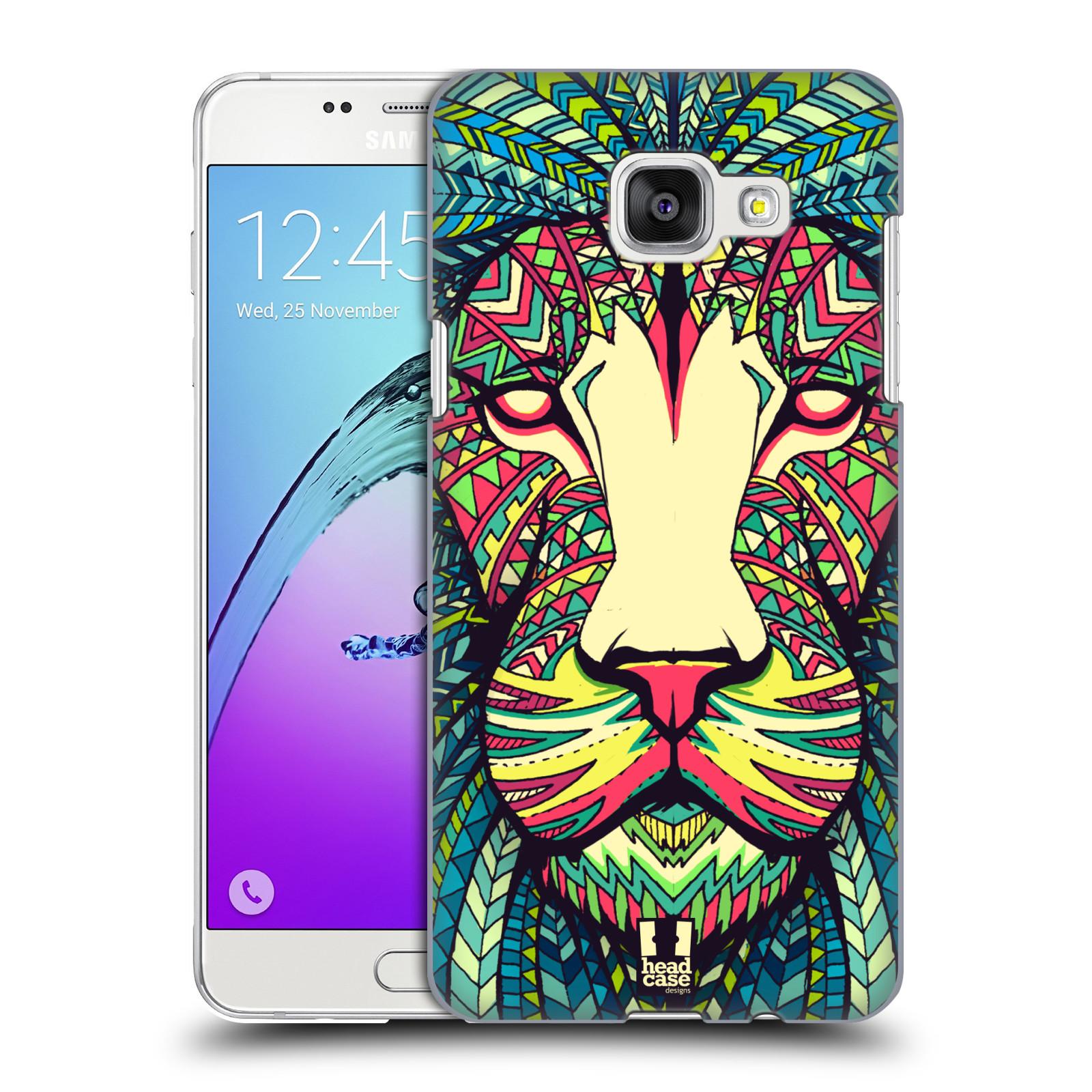 Plastové pouzdro na mobil Samsung Galaxy A5 (2016) HEAD CASE AZTEC LEV