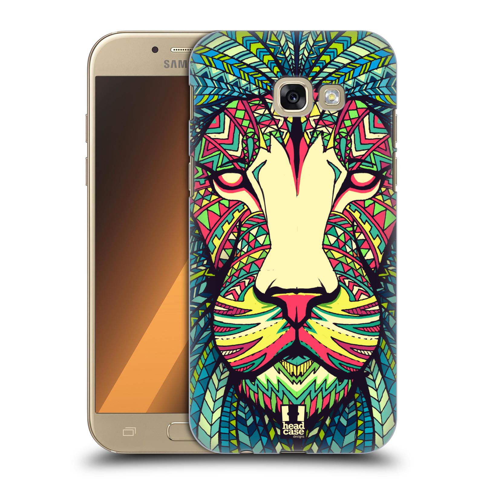 Plastové pouzdro na mobil Samsung Galaxy A5 (2017) HEAD CASE AZTEC LEV