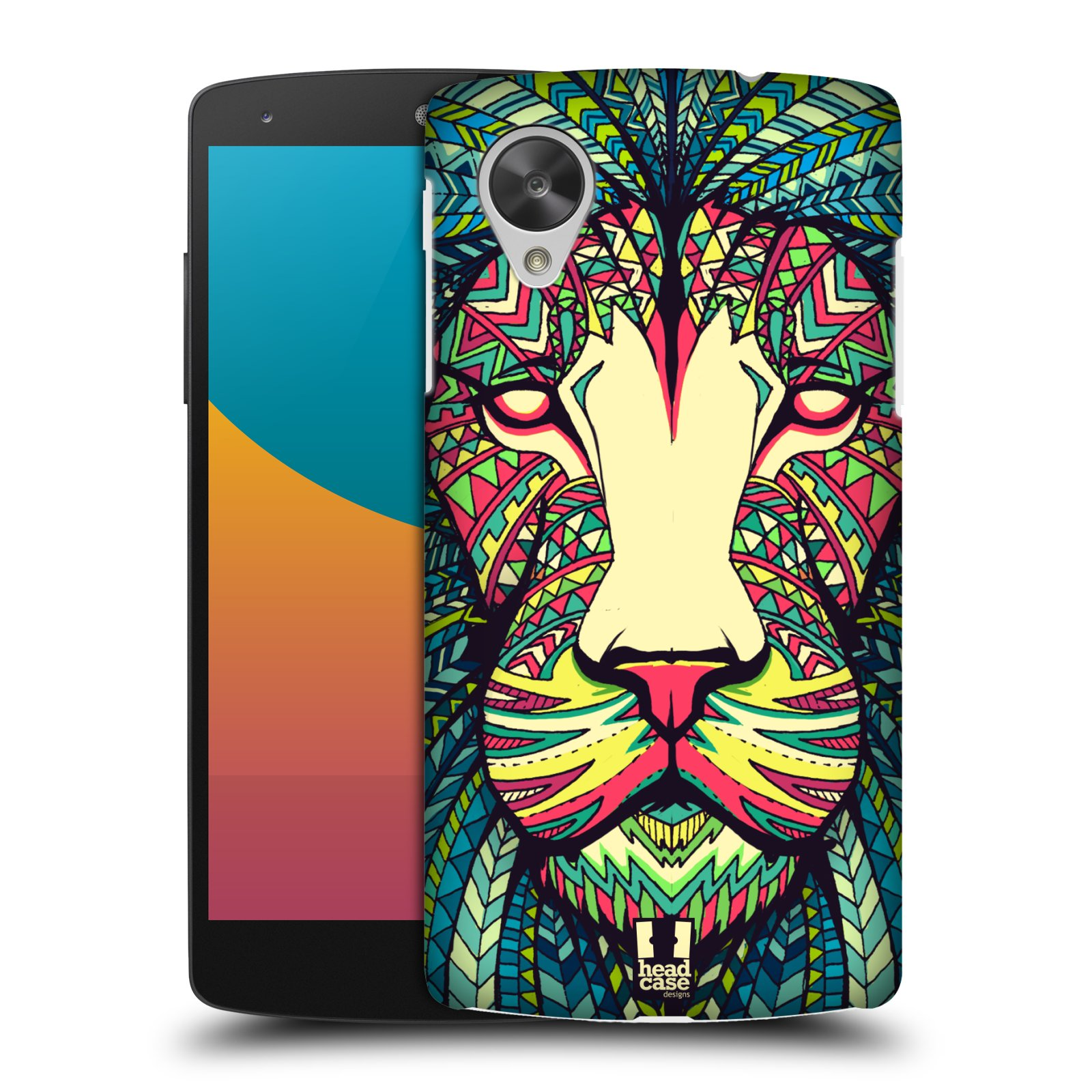 Plastové pouzdro na mobil LG Nexus 5 HEAD CASE AZTEC LEV (Kryt či obal na mobilní telefon LG Google Nexus 5 D821)