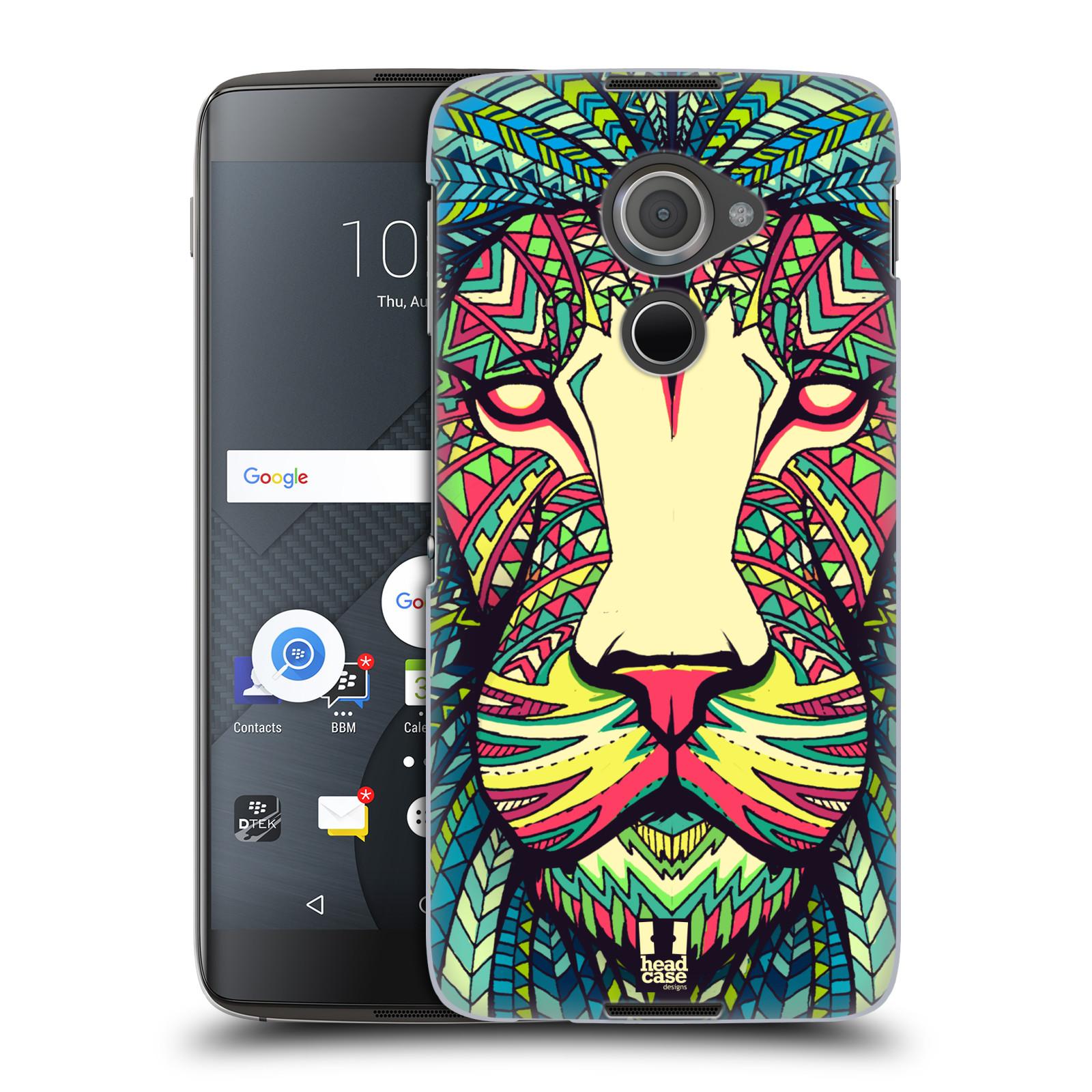 Plastové pouzdro na mobil Blackberry DTEK60 (Argon) - Head Case AZTEC LEV