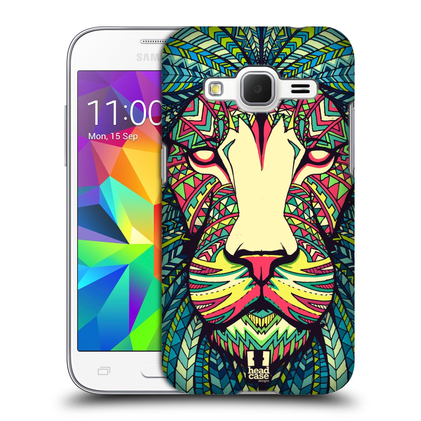 Plastové pouzdro na mobil Samsung Galaxy Core Prime VE HEAD CASE AZTEC LEV (Kryt či obal na mobilní telefon Samsung Galaxy Core Prime LTE VE SM-G361F)