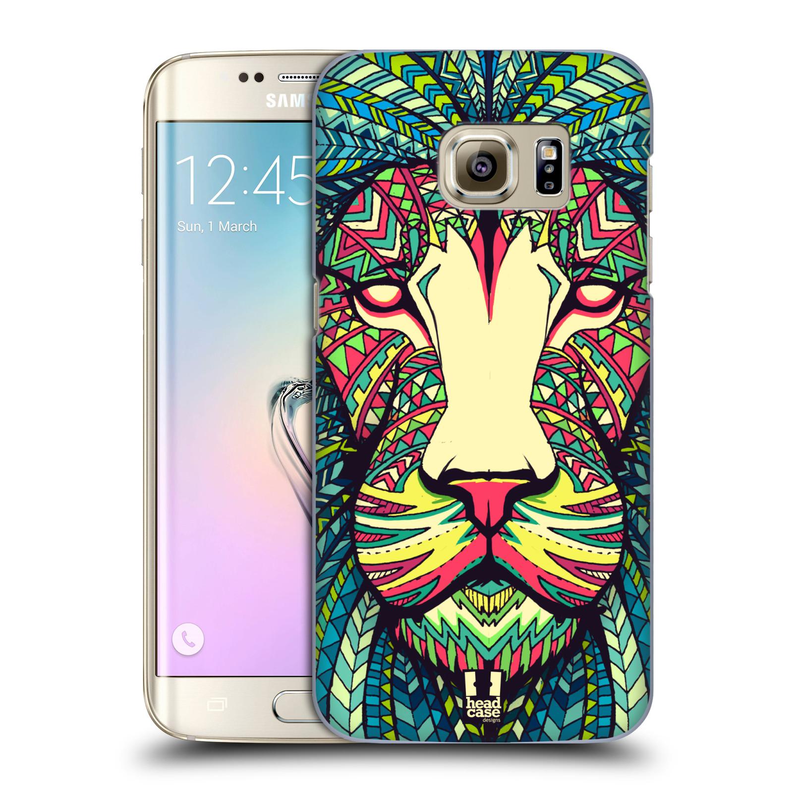 Plastové pouzdro na mobil Samsung Galaxy S7 Edge HEAD CASE AZTEC LEV (Kryt či obal na mobilní telefon Samsung Galaxy S7 Edge SM-G935F)