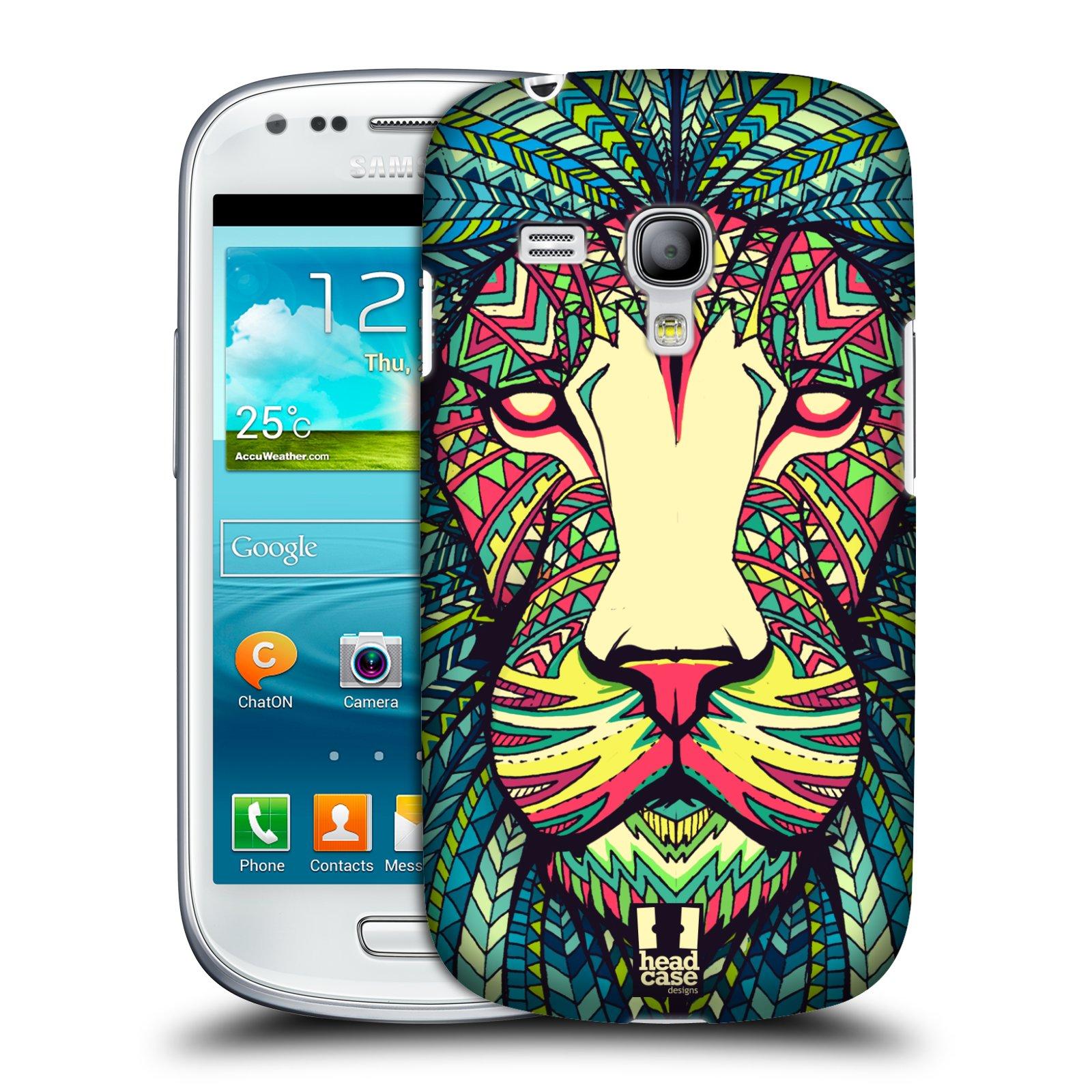 Plastové pouzdro na mobil Samsung Galaxy S III Mini HEAD CASE AZTEC LEV (Kryt či obal na mobilní telefon Samsung Galaxy S III Mini GT-i8190)