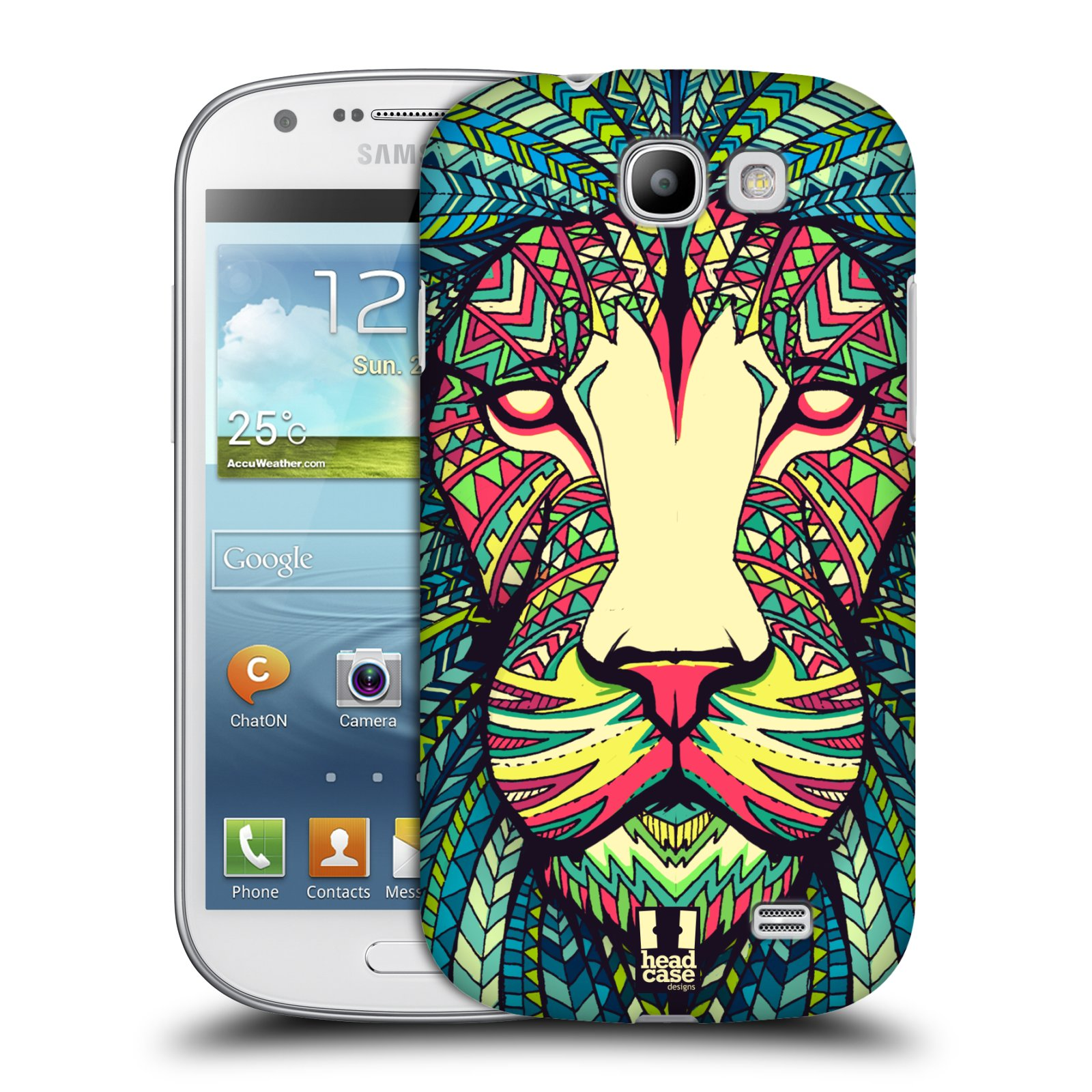 Plastové pouzdro na mobil Samsung Galaxy Express HEAD CASE AZTEC LEV (Kryt či obal na mobilní telefon Samsung Galaxy Express GT-i8730)