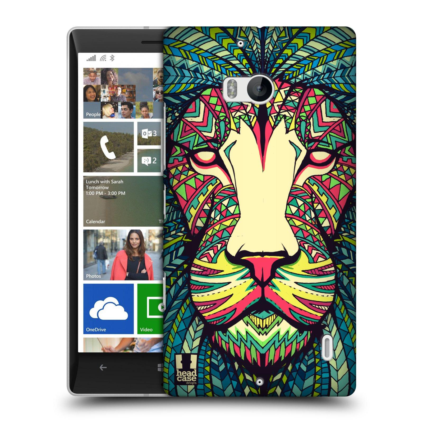 Plastové pouzdro na mobil Nokia Lumia 930 HEAD CASE AZTEC LEV (Kryt či obal na mobilní telefon Nokia Lumia 930)