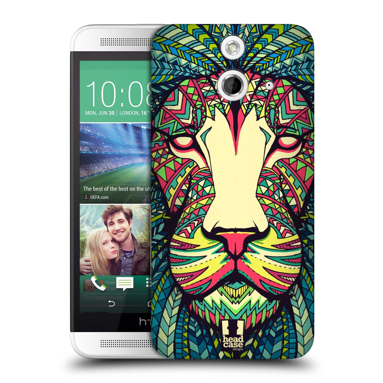 Plastové pouzdro na mobil HTC ONE E8 HEAD CASE AZTEC LEV (Kryt či obal na mobilní telefon HTC ONE E8)