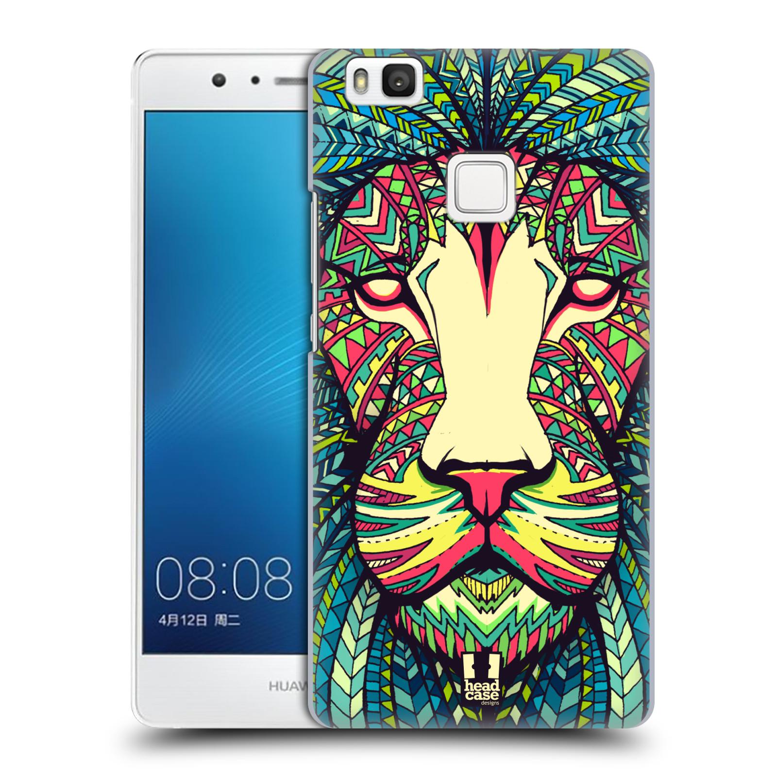 Plastové pouzdro na mobil Huawei P9 Lite HEAD CASE AZTEC LEV