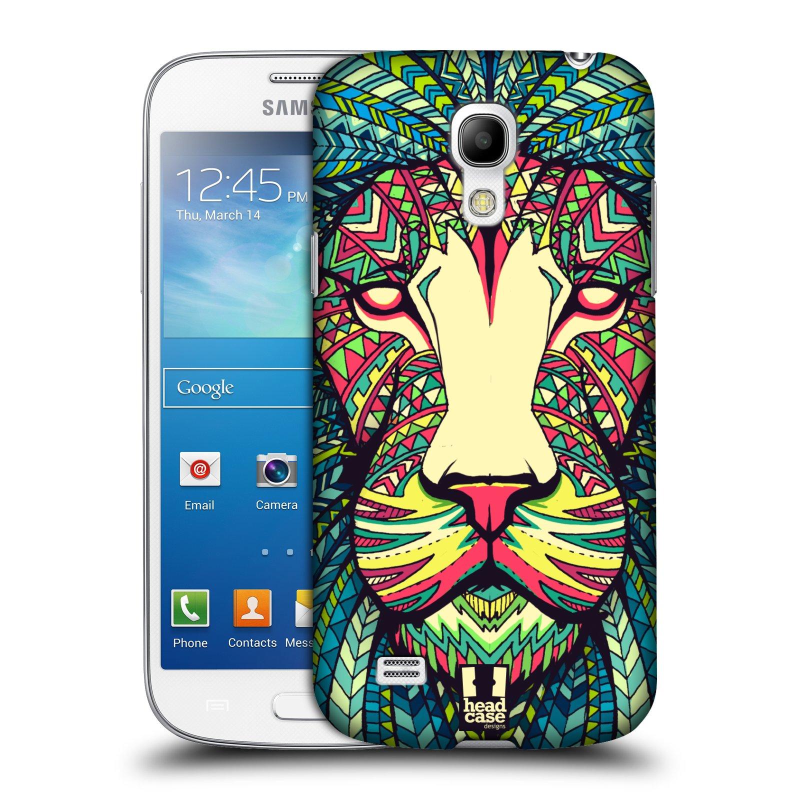 Plastové pouzdro na mobil Samsung Galaxy S4 Mini HEAD CASE AZTEC LEV