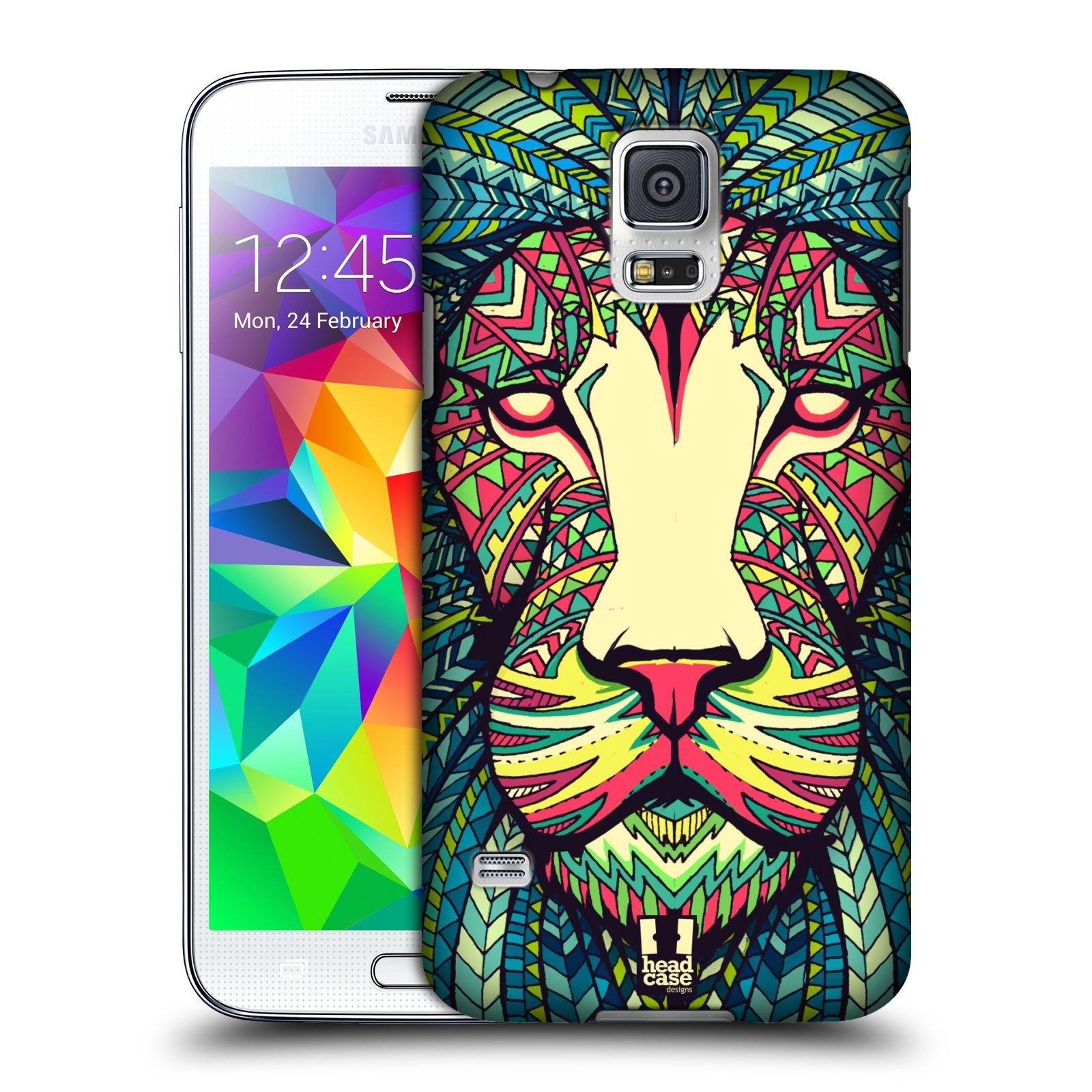 Plastové pouzdro na mobil Samsung Galaxy S5 HEAD CASE AZTEC LEV
