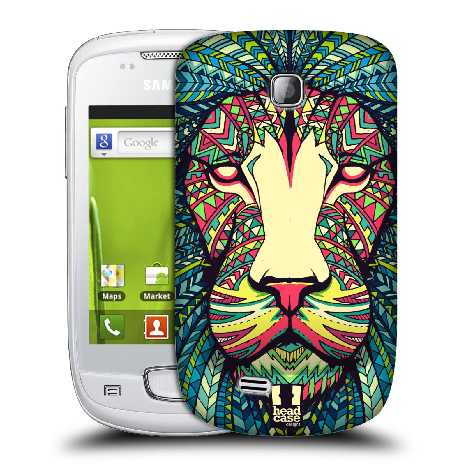 Plastové pouzdro na mobil Samsung Galaxy Mini HEAD CASE AZTEC LEV (Kryt či obal na mobilní telefon Samsung Galaxy Mini GT-S5570 / GT-S5570i)