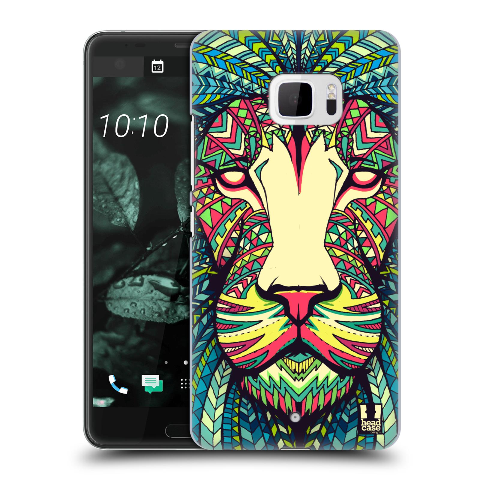 Plastové pouzdro na mobil HTC U Ultra Head Case - AZTEC LEV (Plastový kryt či obal na mobilní telefon HTC U Ultra (99HALT015-00))