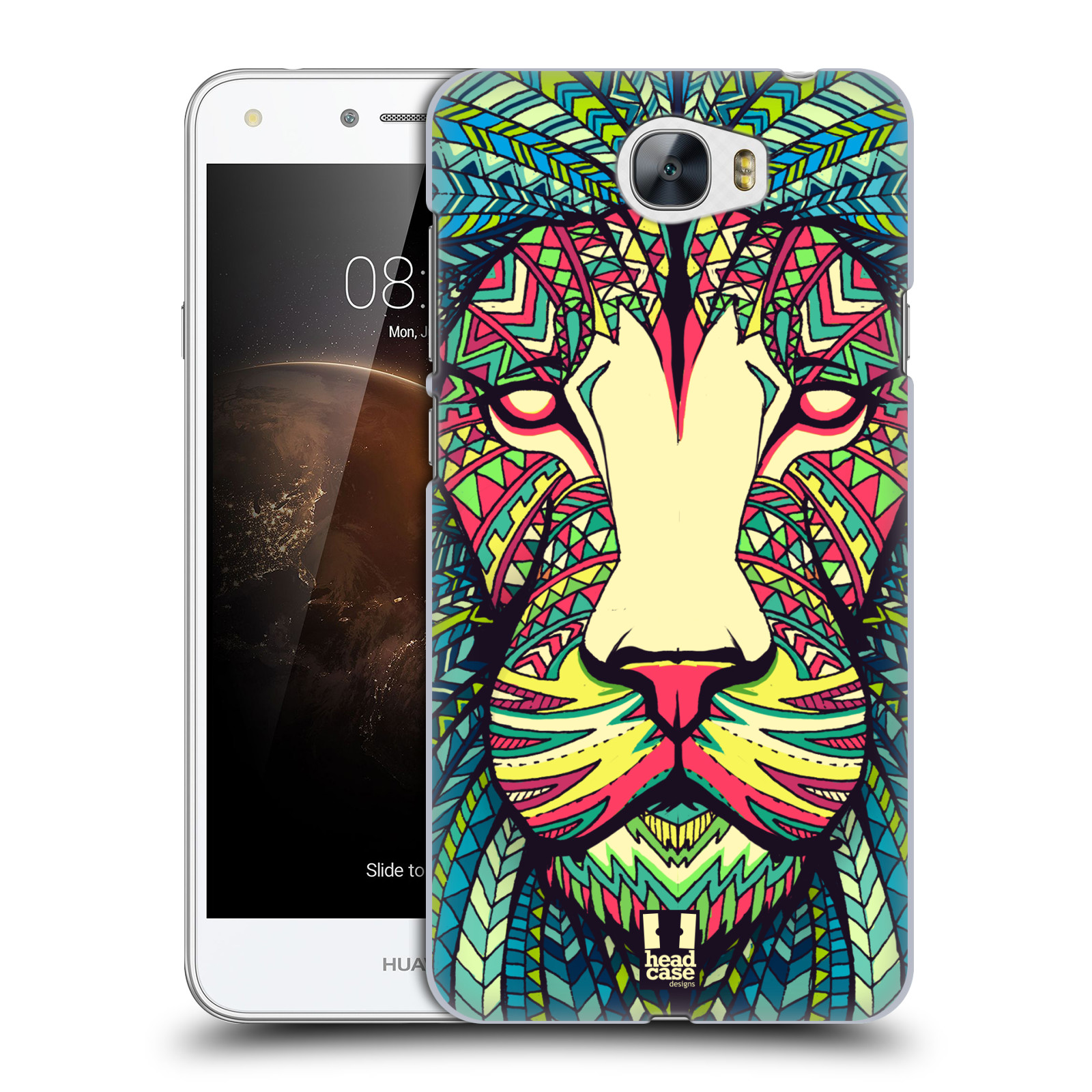 Plastové pouzdro na mobil Huawei Y5 II HEAD CASE AZTEC LEV