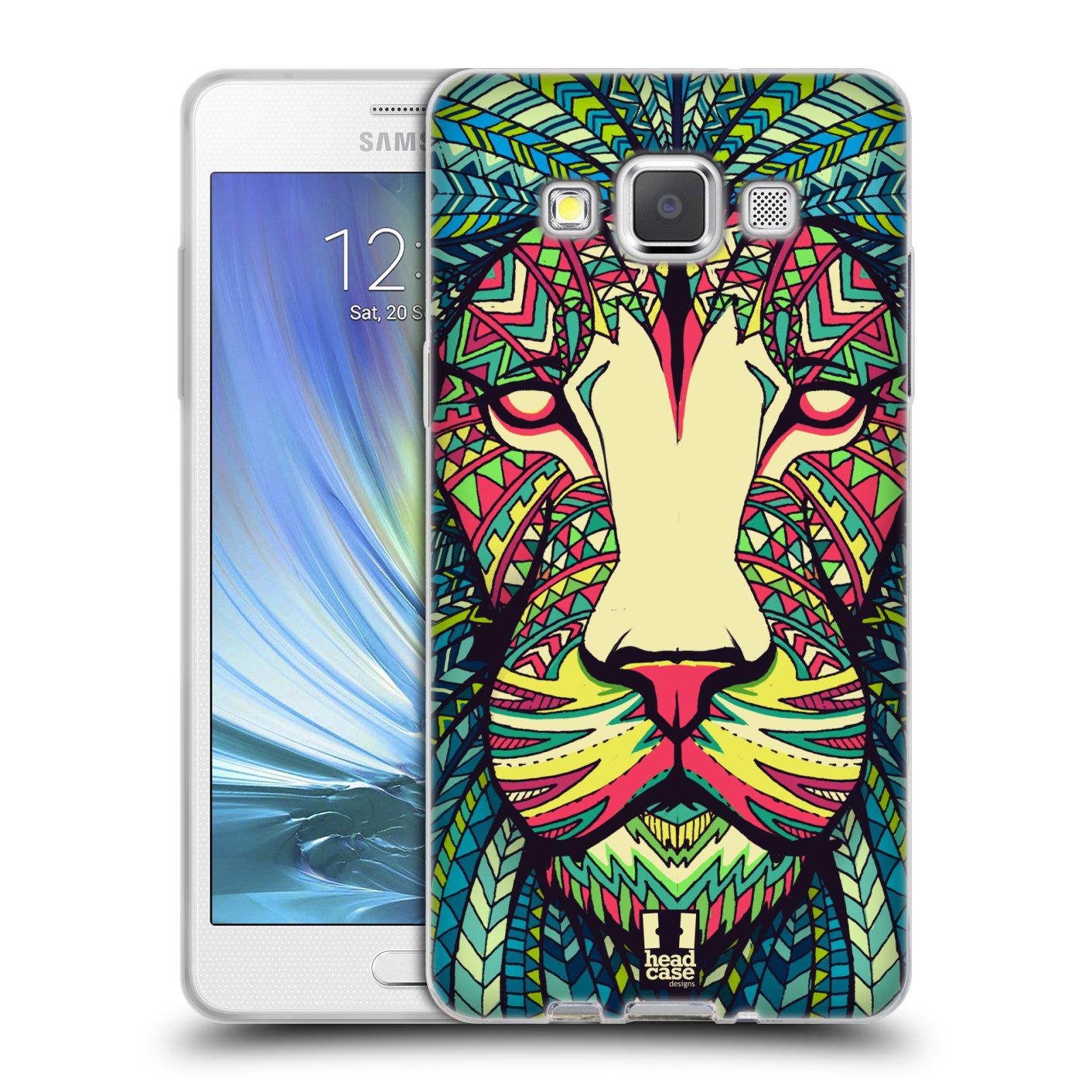 Silikonové pouzdro na mobil Samsung Galaxy A5 HEAD CASE AZTEC LEV