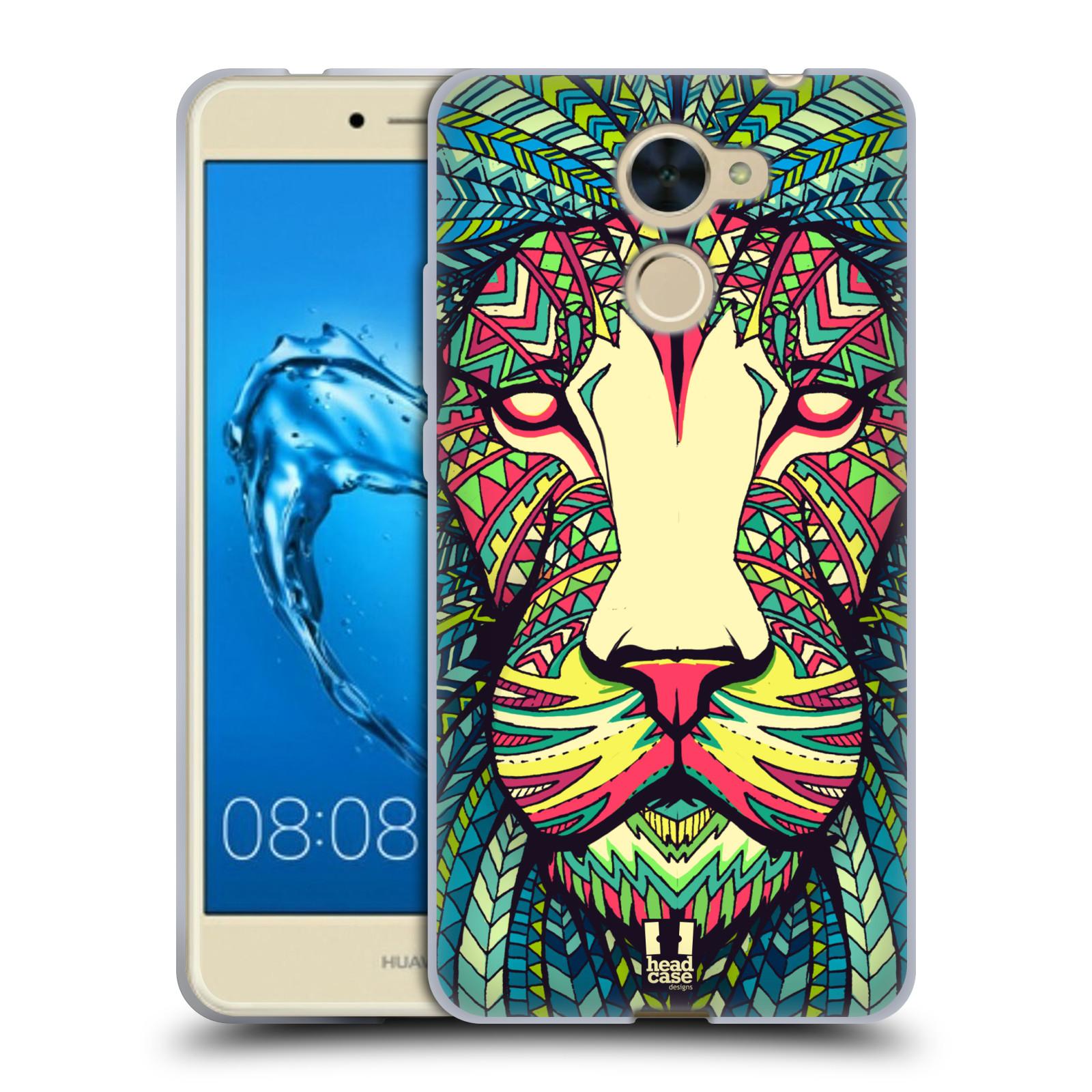 Silikonové pouzdro na mobil Huawei Y7 - Head Case - AZTEC LEV
