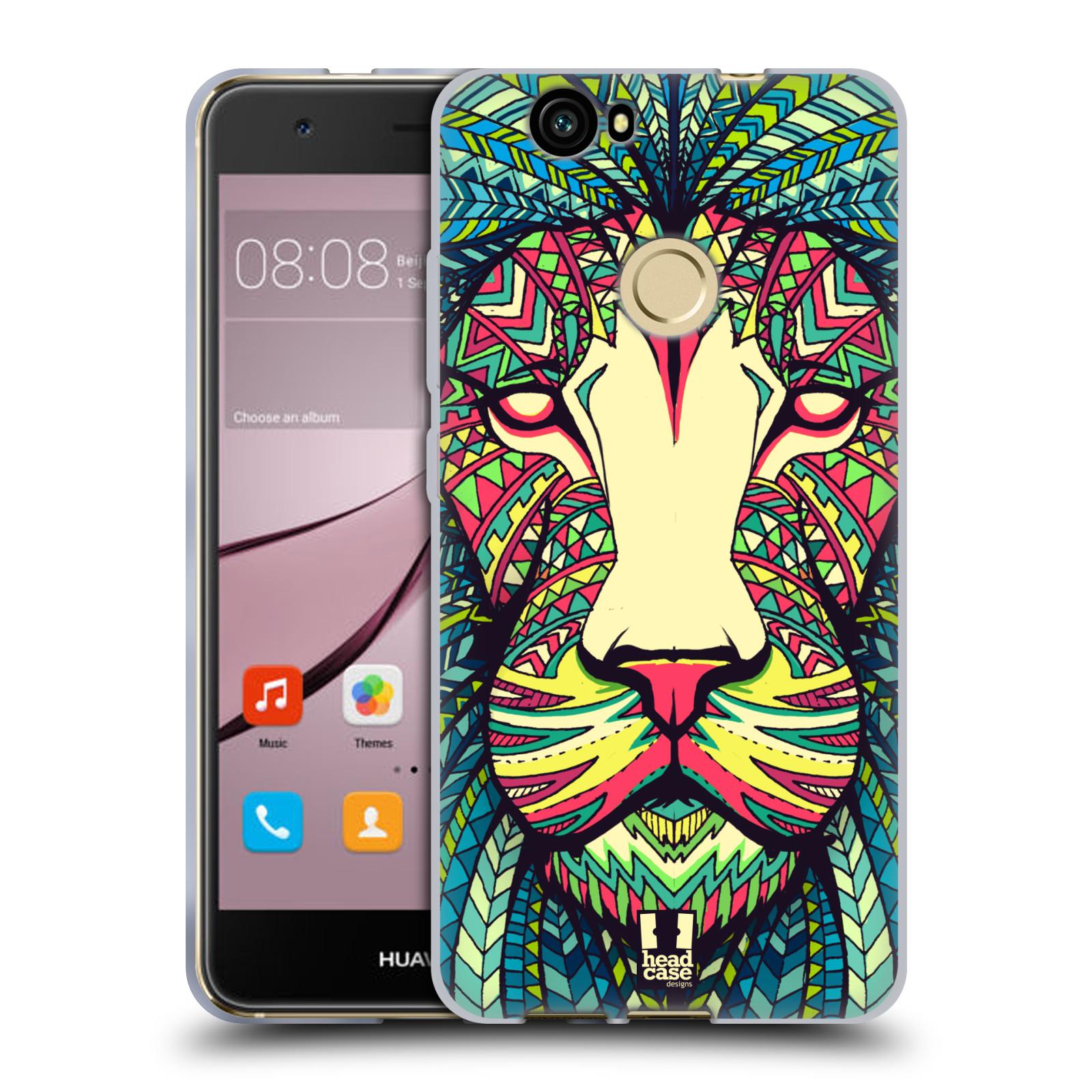 Silikonové pouzdro na mobil Huawei Nova - Head Case - AZTEC LEV