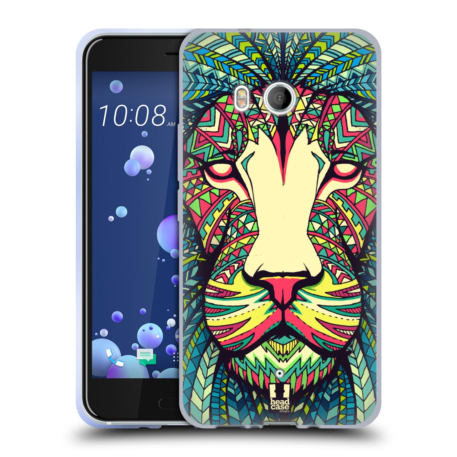 Silikonové pouzdro na mobil HTC U11 - Head Case - AZTEC LEV