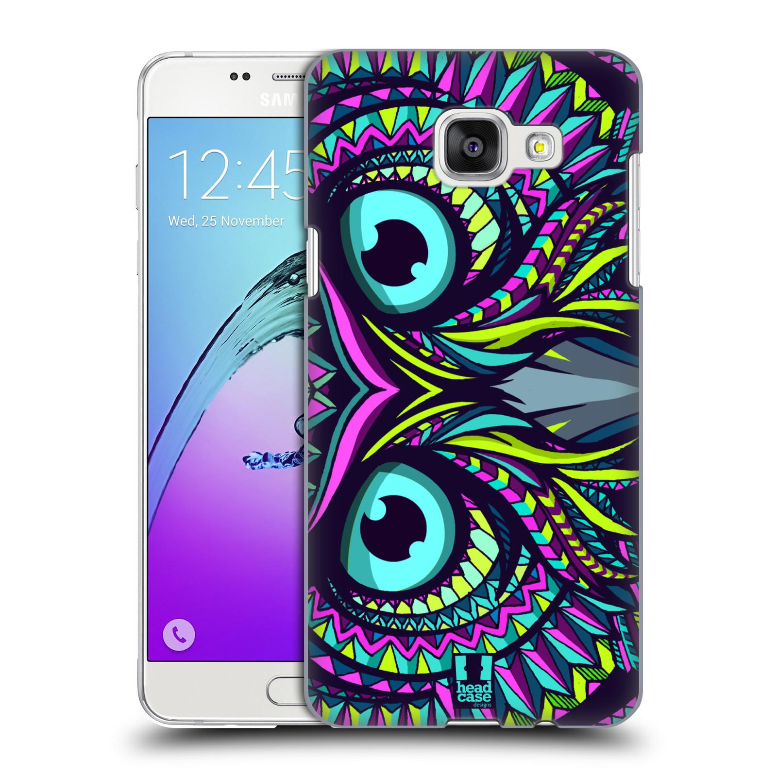 Plastové pouzdro na mobil Samsung Galaxy A5 (2016) HEAD CASE AZTEC SOVA
