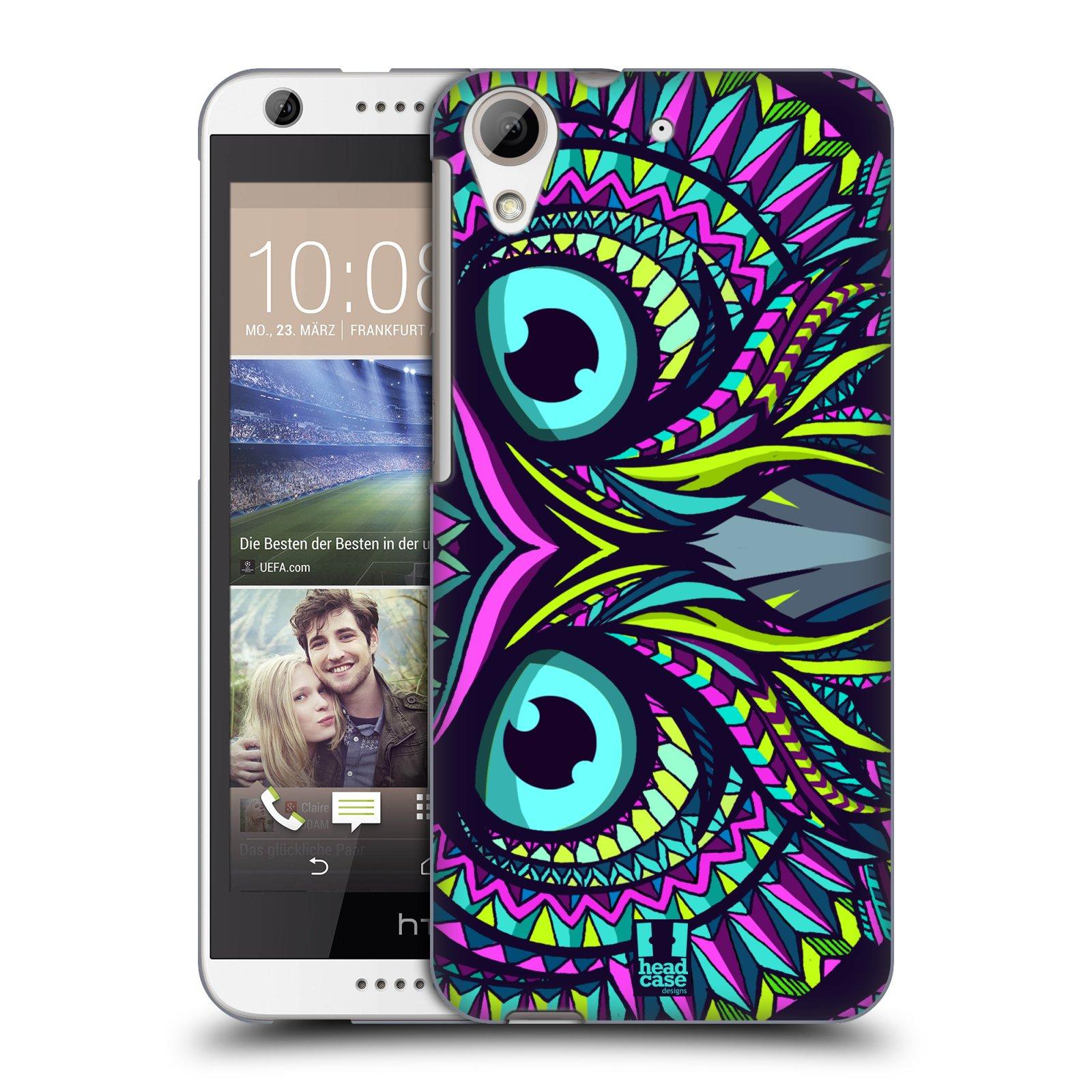 Plastové pouzdro na mobil HTC Desire 626 / 626G HEAD CASE AZTEC SOVA (Kryt či obal na mobilní telefon HTC Desire 626G Dual SIM a HTC Desire 626)