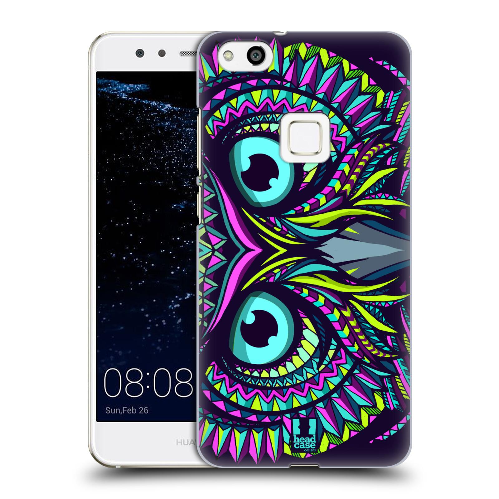 Plastové pouzdro na mobil Huawei P10 Lite Head Case - AZTEC SOVA (Plastový kryt či obal na mobilní telefon Huawei P10 Lite Dual SIM (LX1/LX1A))