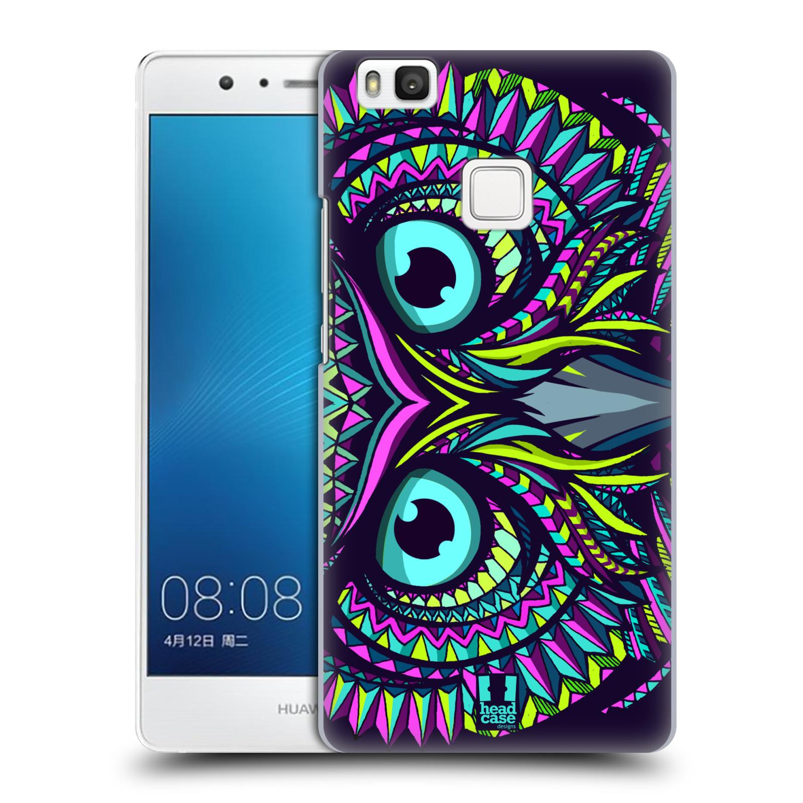 Plastové pouzdro na mobil Huawei P9 Lite HEAD CASE AZTEC SOVA