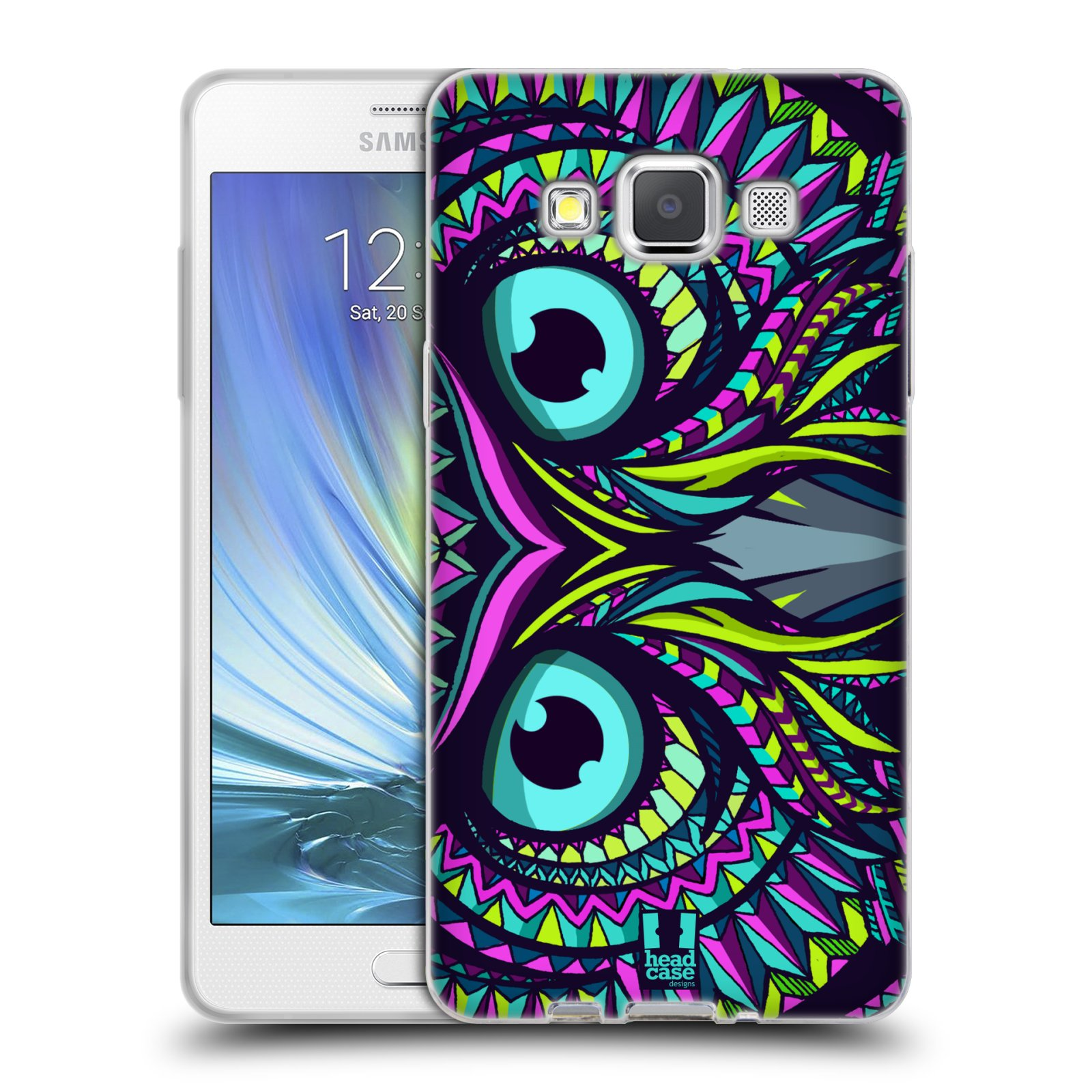Silikonové pouzdro na mobil Samsung Galaxy A5 HEAD CASE AZTEC SOVA ( Silikonový kryt či obal 1c9cfa30f63