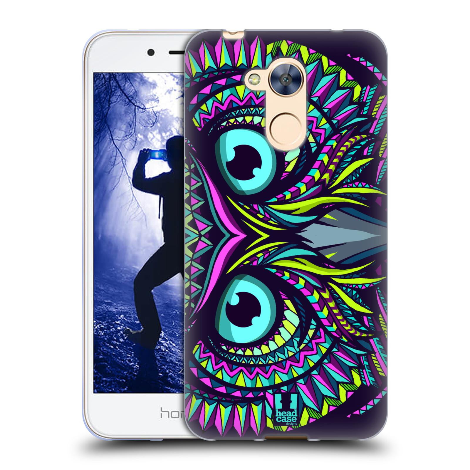 Silikonové pouzdro na mobil Honor 6A - Head Case - AZTEC SOVA