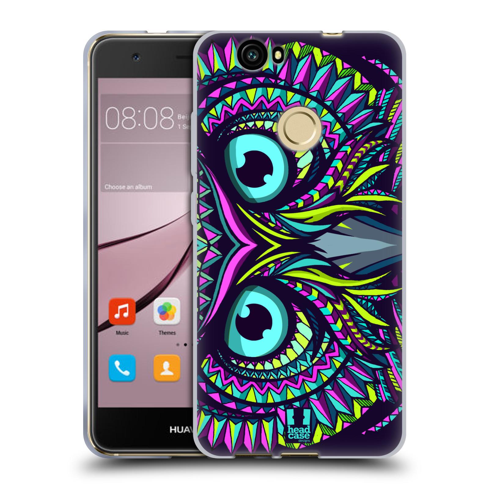 Silikonové pouzdro na mobil Huawei Nova - Head Case - AZTEC SOVA