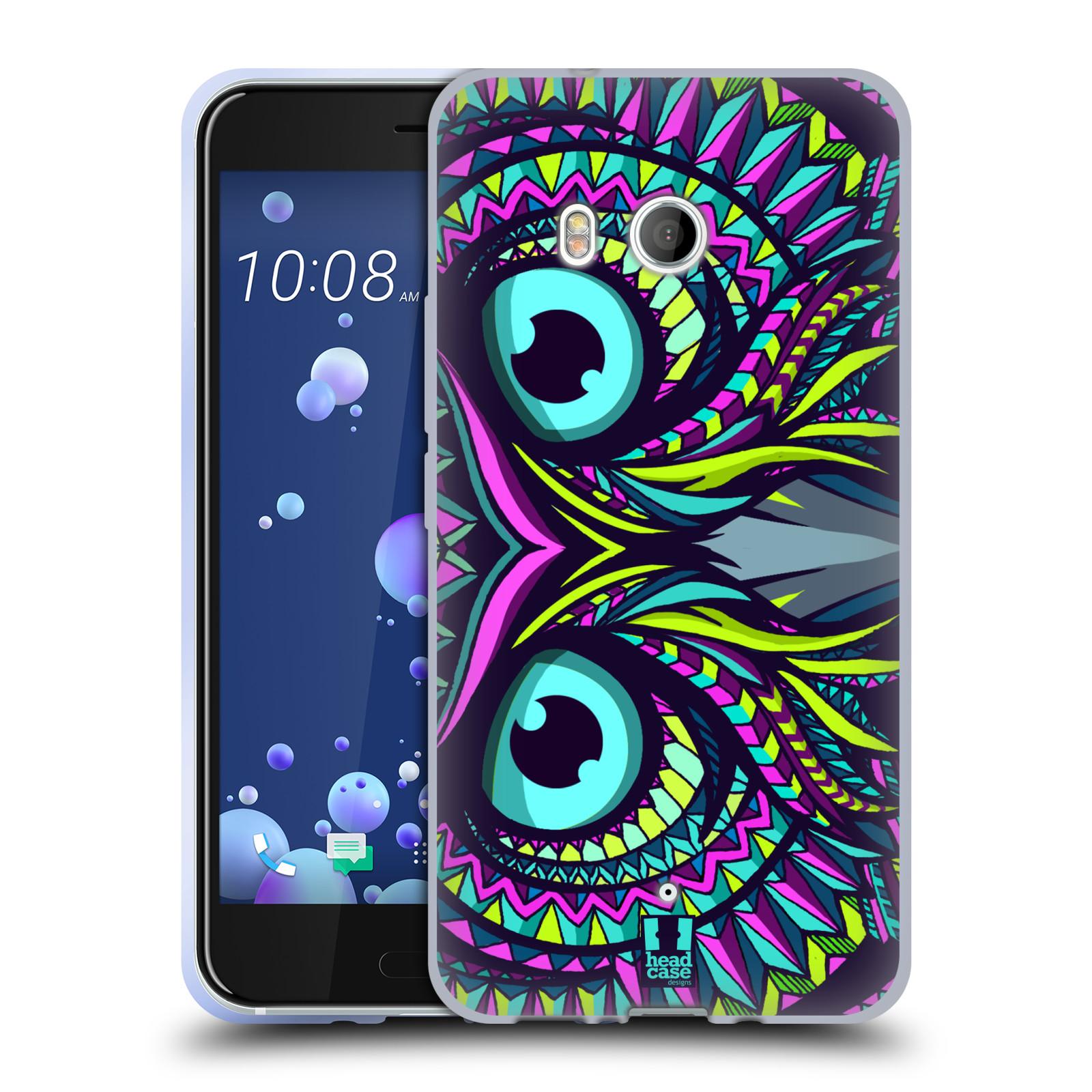 Silikonové pouzdro na mobil HTC U11 - Head Case - AZTEC SOVA