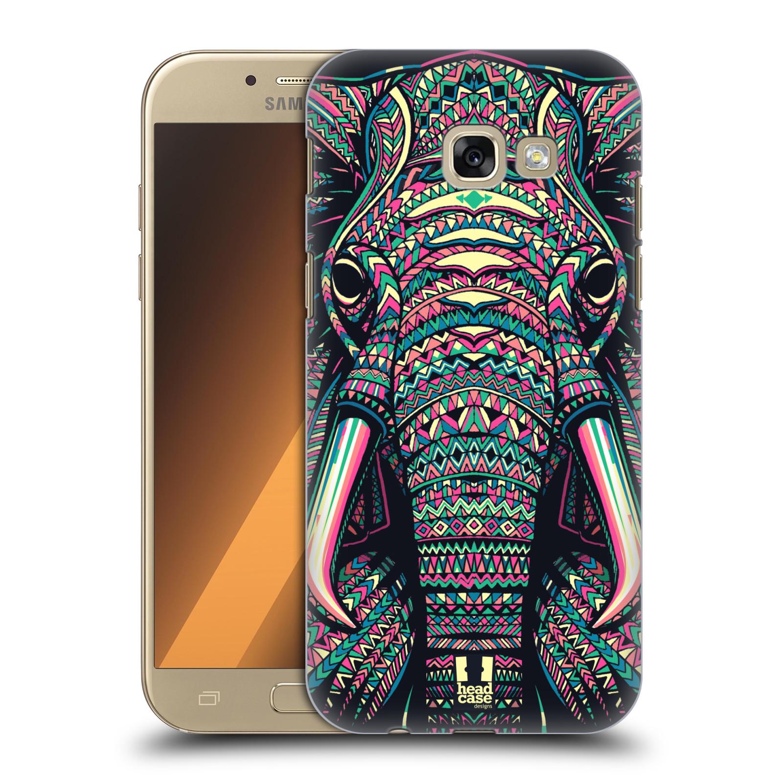 Plastové pouzdro na mobil Samsung Galaxy A5 (2017) HEAD CASE AZTEC SLON
