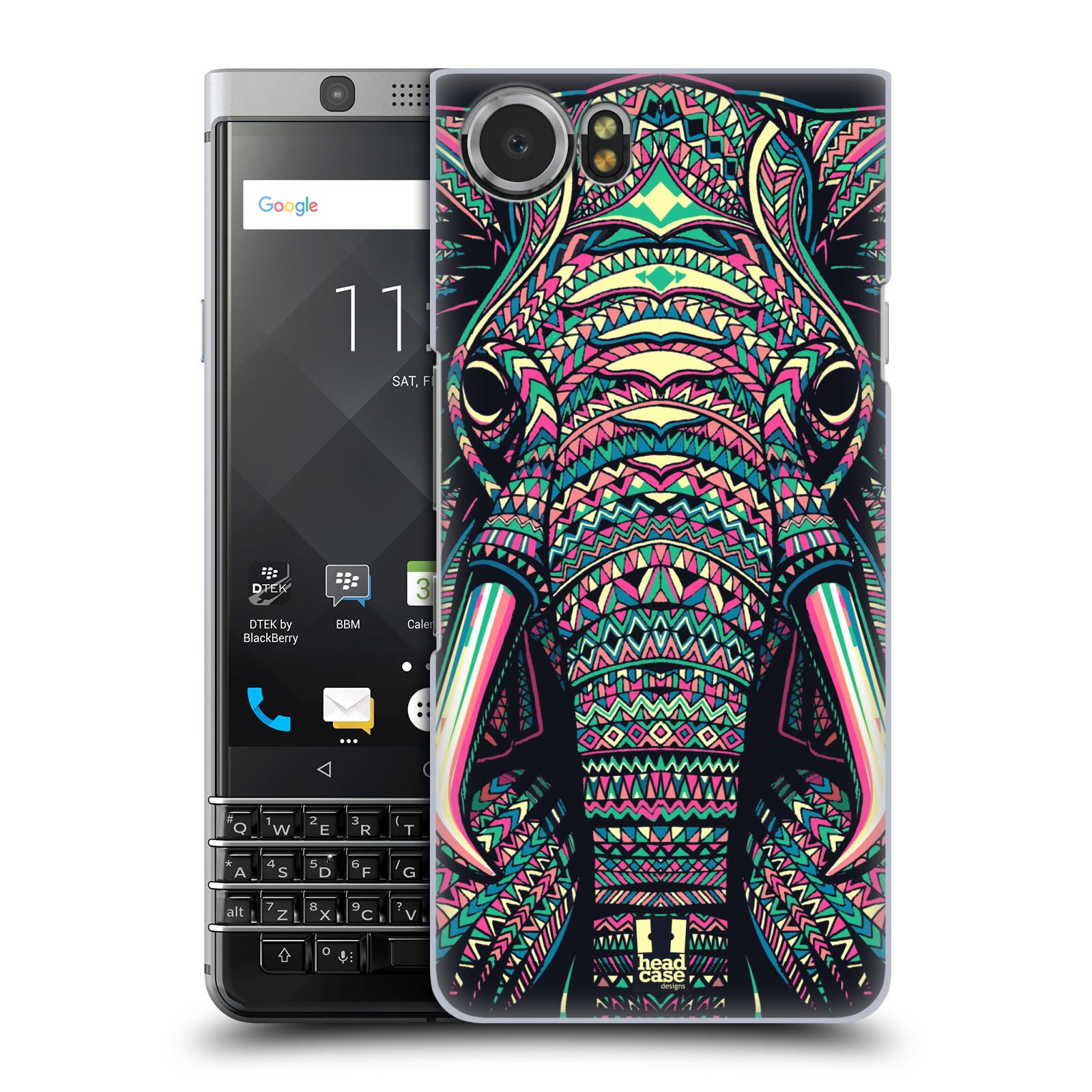 Plastové pouzdro na mobil BlackBerry KEYone - Head Case - AZTEC SLON