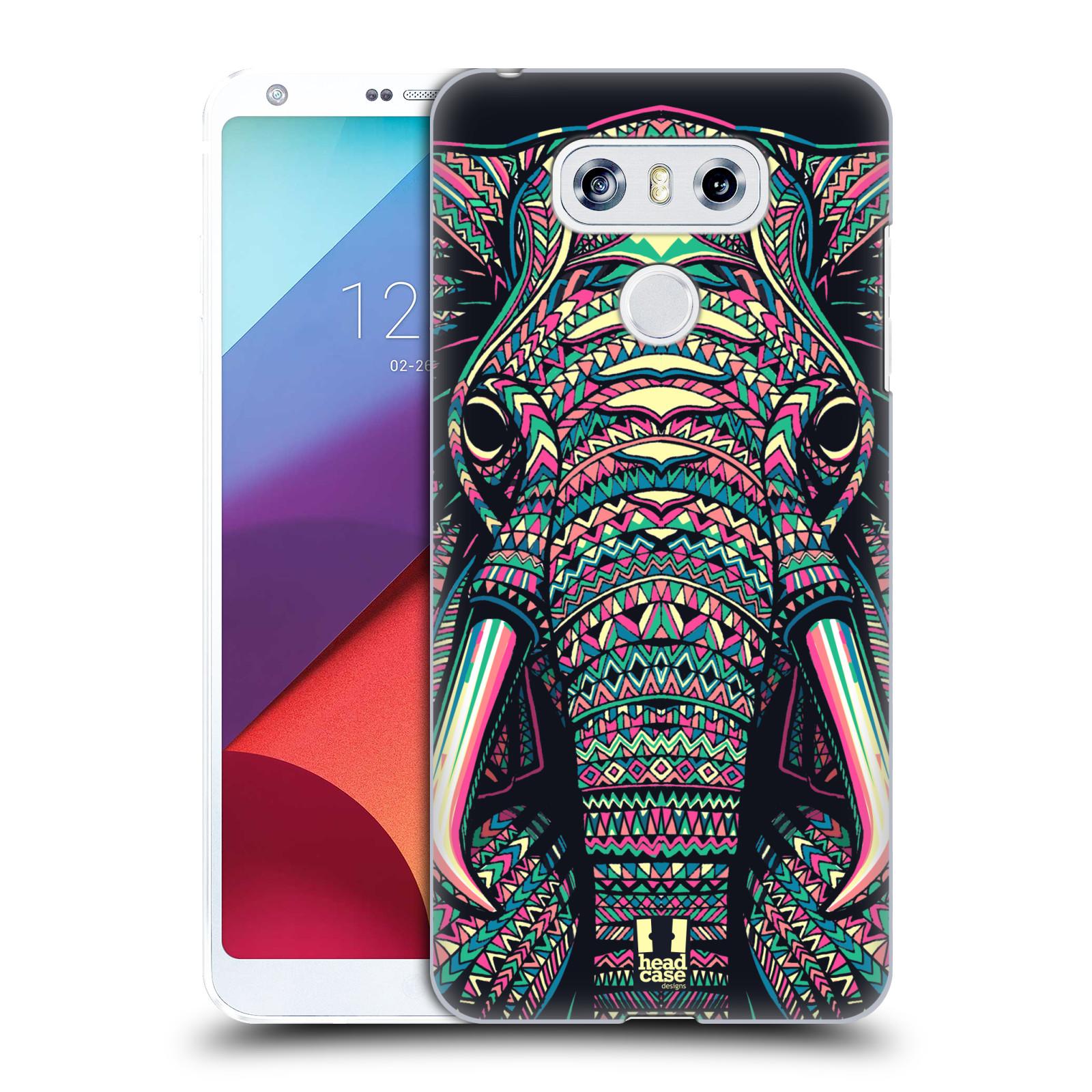 Plastové pouzdro na mobil LG G6 - Head Case AZTEC SLON
