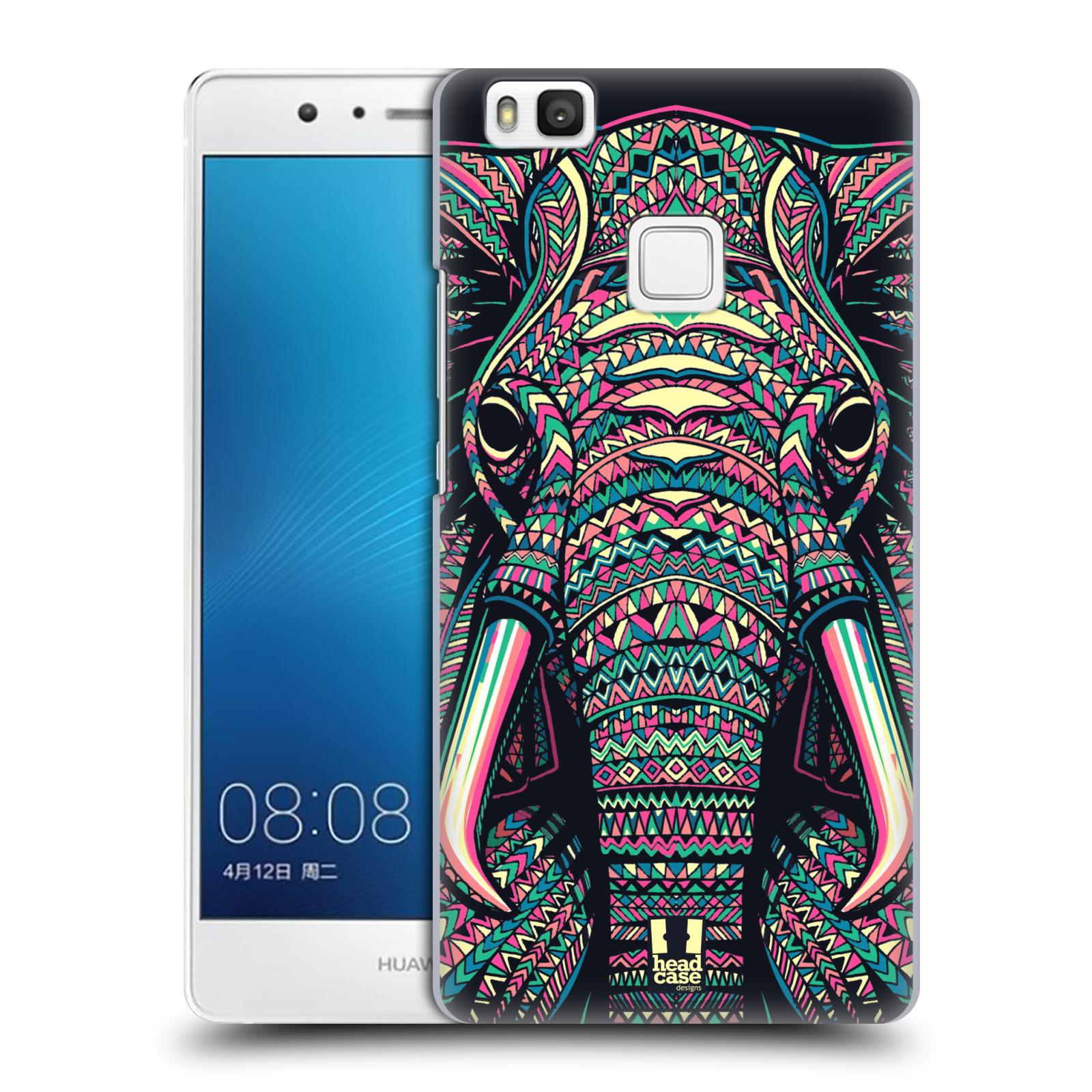 Plastové pouzdro na mobil Huawei P9 Lite HEAD CASE AZTEC SLON