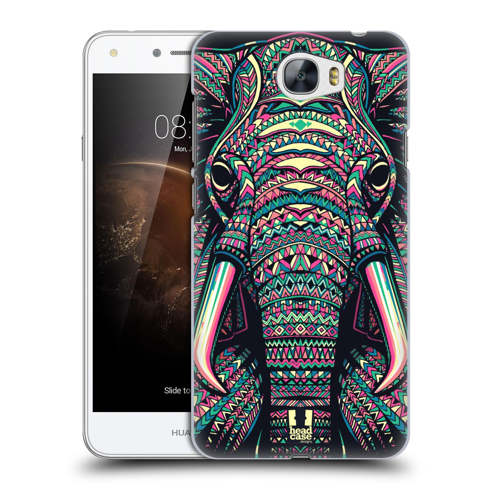 Plastové pouzdro na mobil Huawei Y5 II HEAD CASE AZTEC SLON