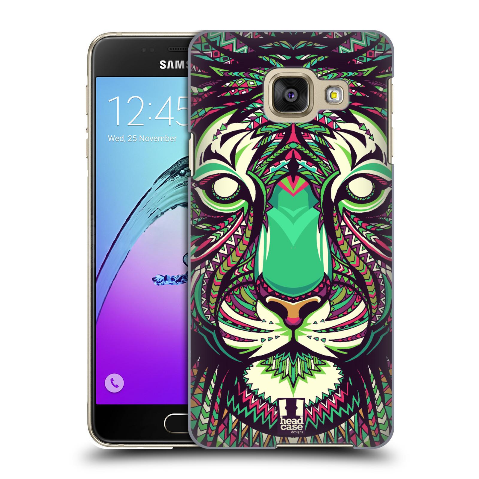 Plastové pouzdro na mobil Samsung Galaxy A3 (2016) HEAD CASE AZTEC TYGR