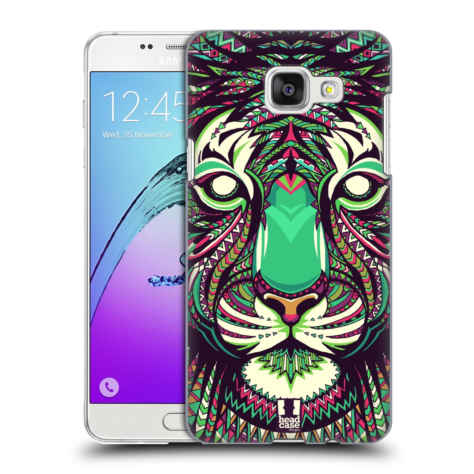 Plastové pouzdro na mobil Samsung Galaxy A5 (2016) HEAD CASE AZTEC TYGR