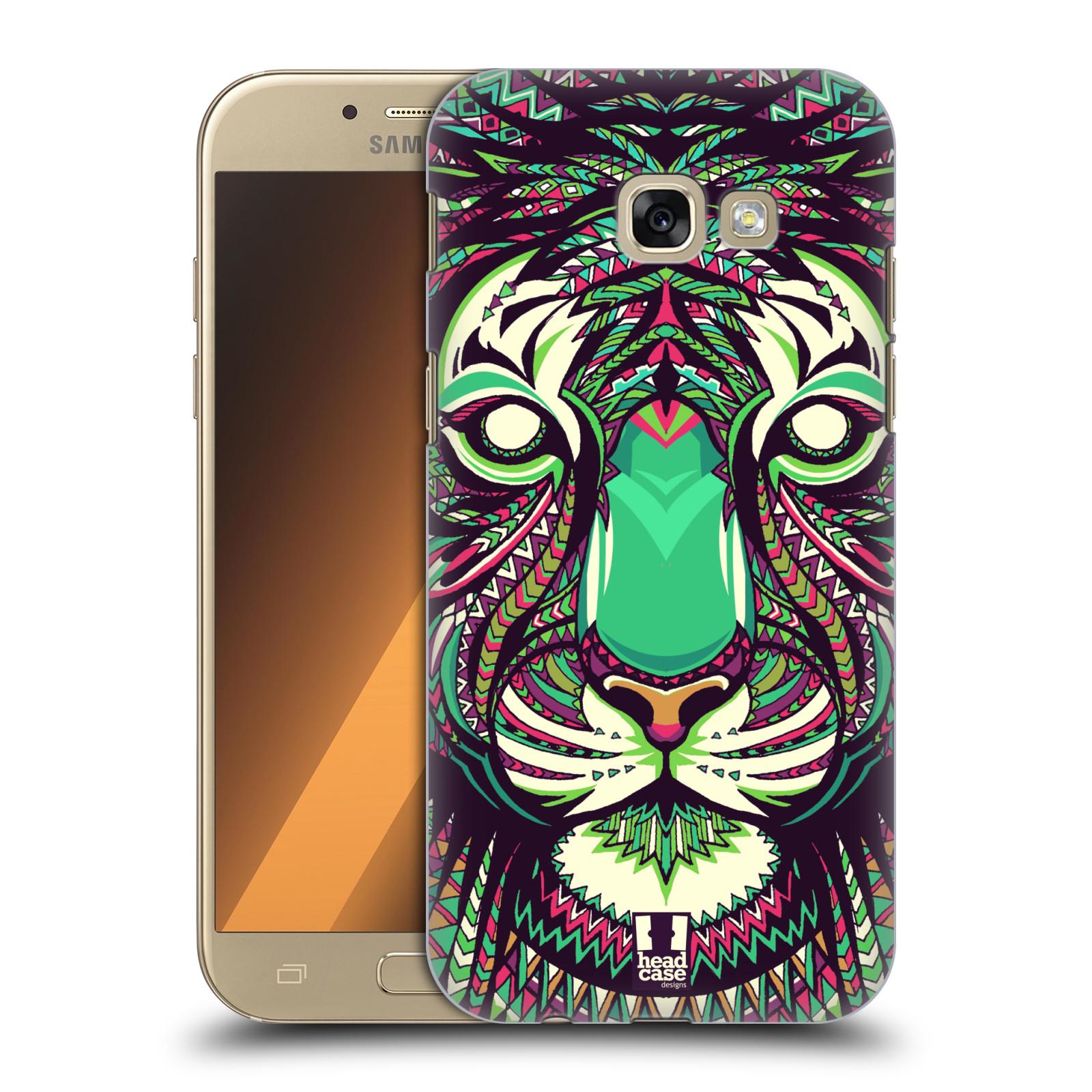 Plastové pouzdro na mobil Samsung Galaxy A5 (2017) HEAD CASE AZTEC TYGR