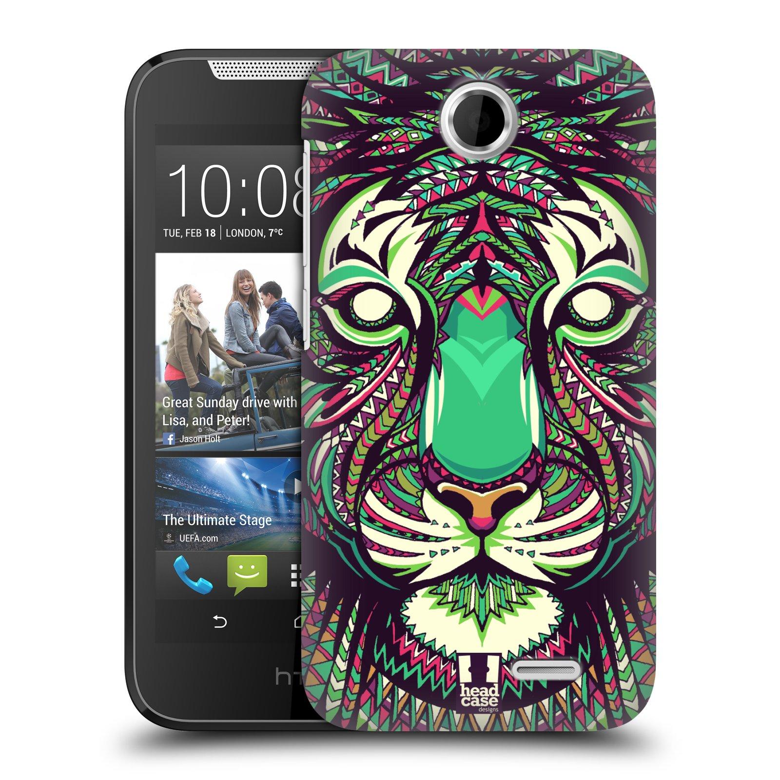 Plastové pouzdro na mobil HTC Desire 310 HEAD CASE AZTEC TYGR (Kryt či obal na mobilní telefon HTC Desire 310)