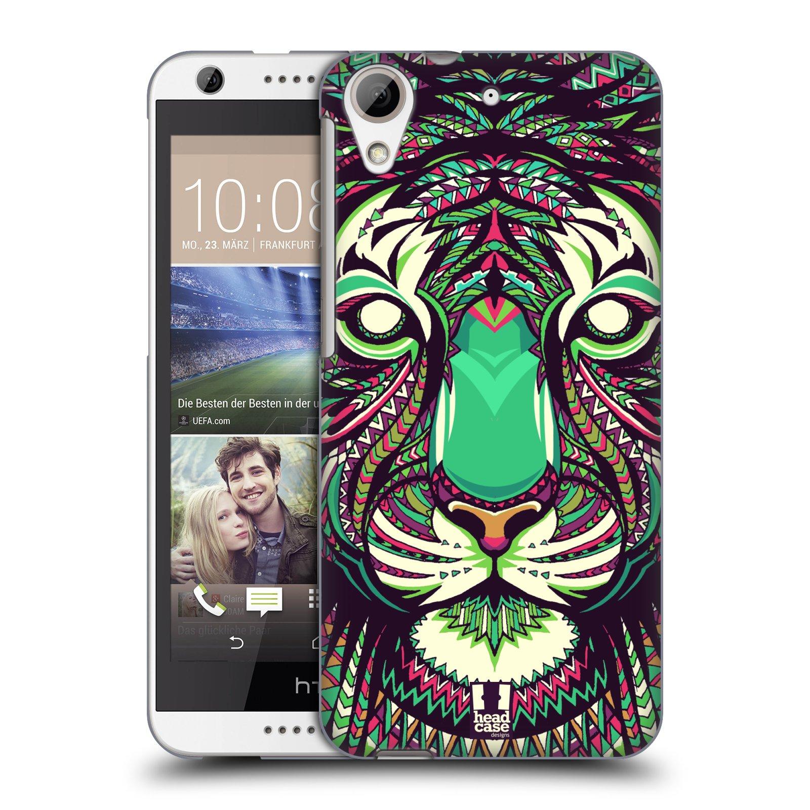 Plastové pouzdro na mobil HTC Desire 626 / 626G HEAD CASE AZTEC TYGR (Kryt či obal na mobilní telefon HTC Desire 626G Dual SIM a HTC Desire 626)